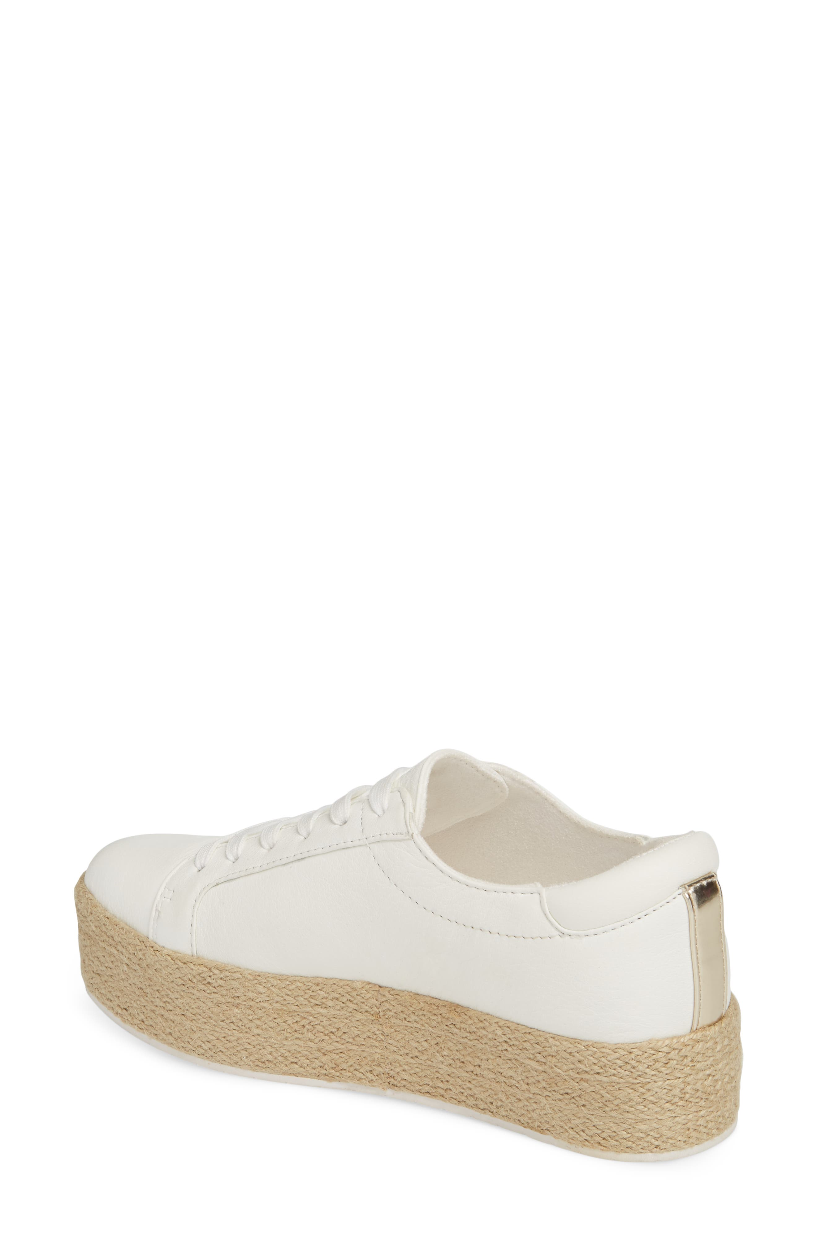 Allyson Espadrille Platform Sneaker,                             Alternate thumbnail 6, color,