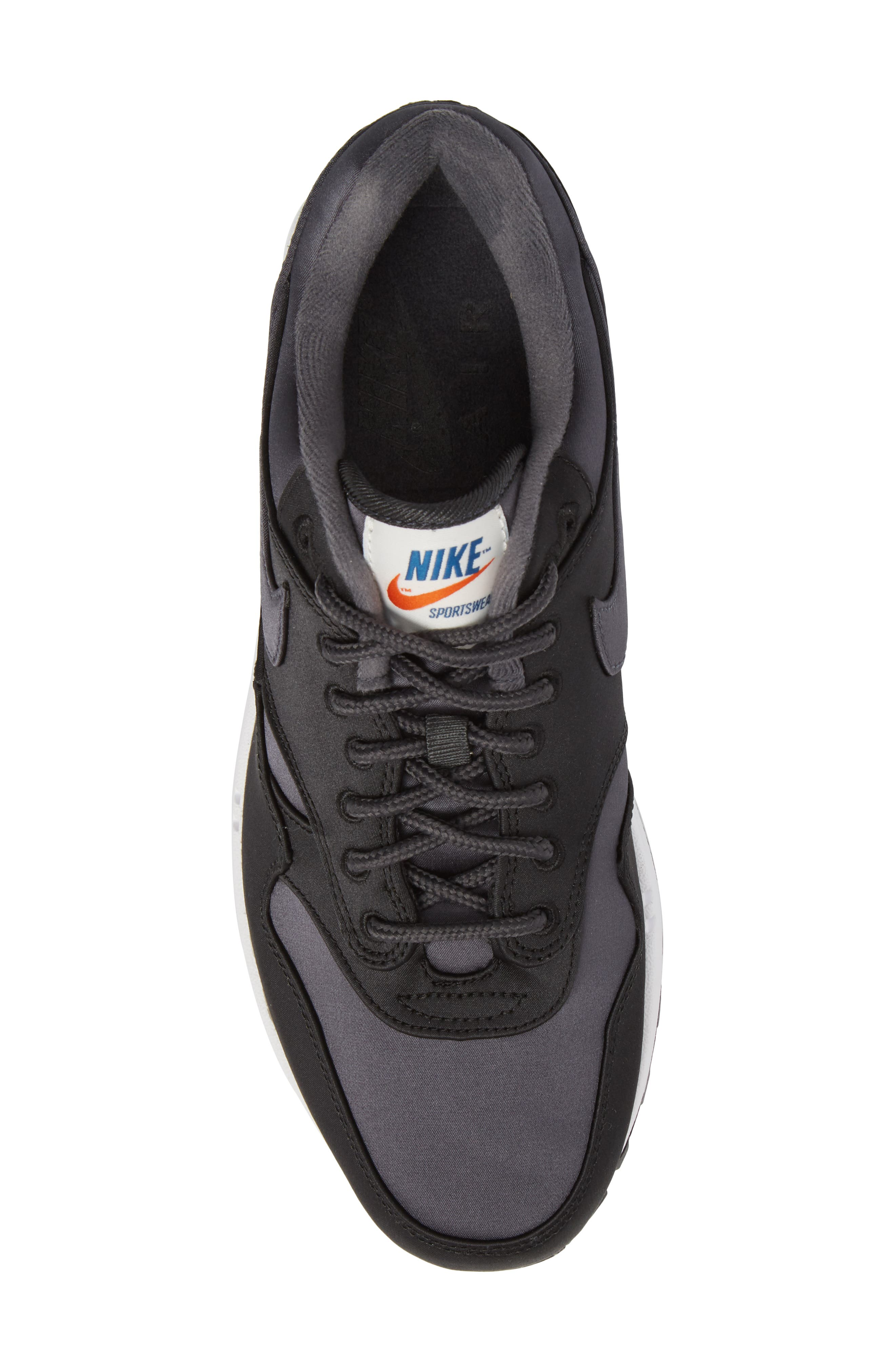 NIKE,                             Air Max 1 SE Sneaker,                             Alternate thumbnail 5, color,                             001