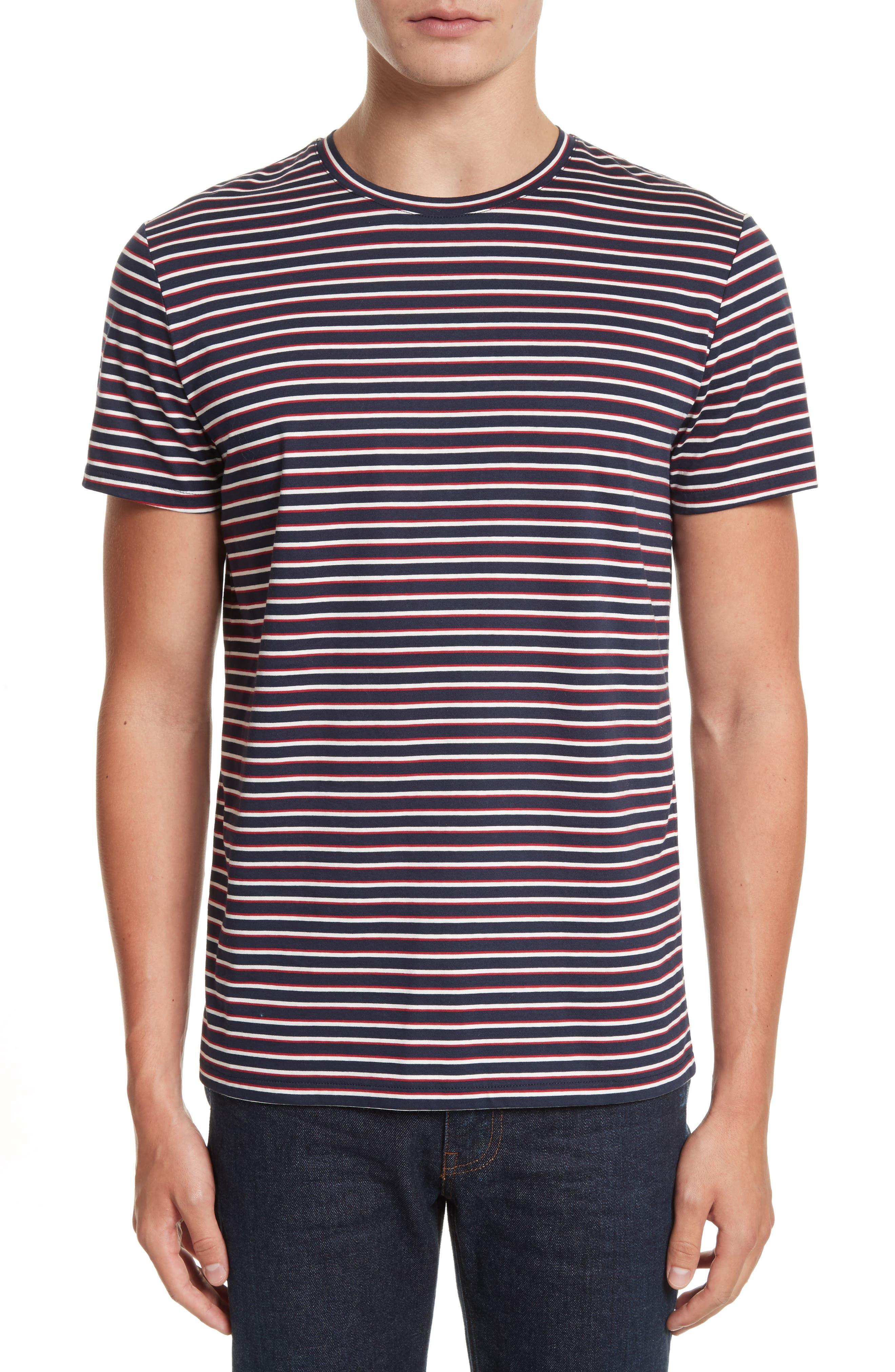 Elliot Stripe T-Shirt,                             Main thumbnail 1, color,                             420