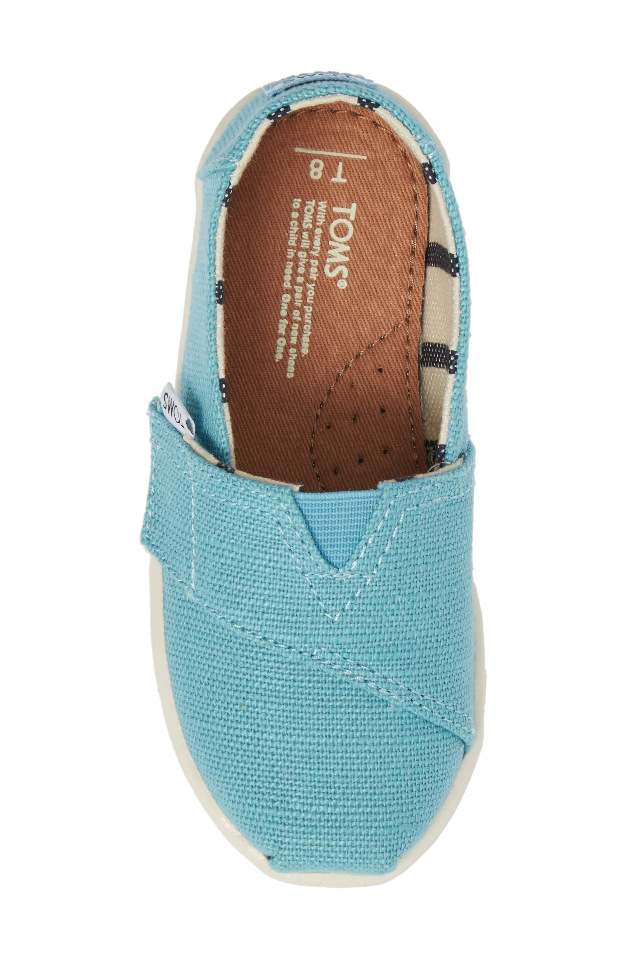TOMS,                             Heritage Canvas Slip-On,                             Alternate thumbnail 5, color,                             430