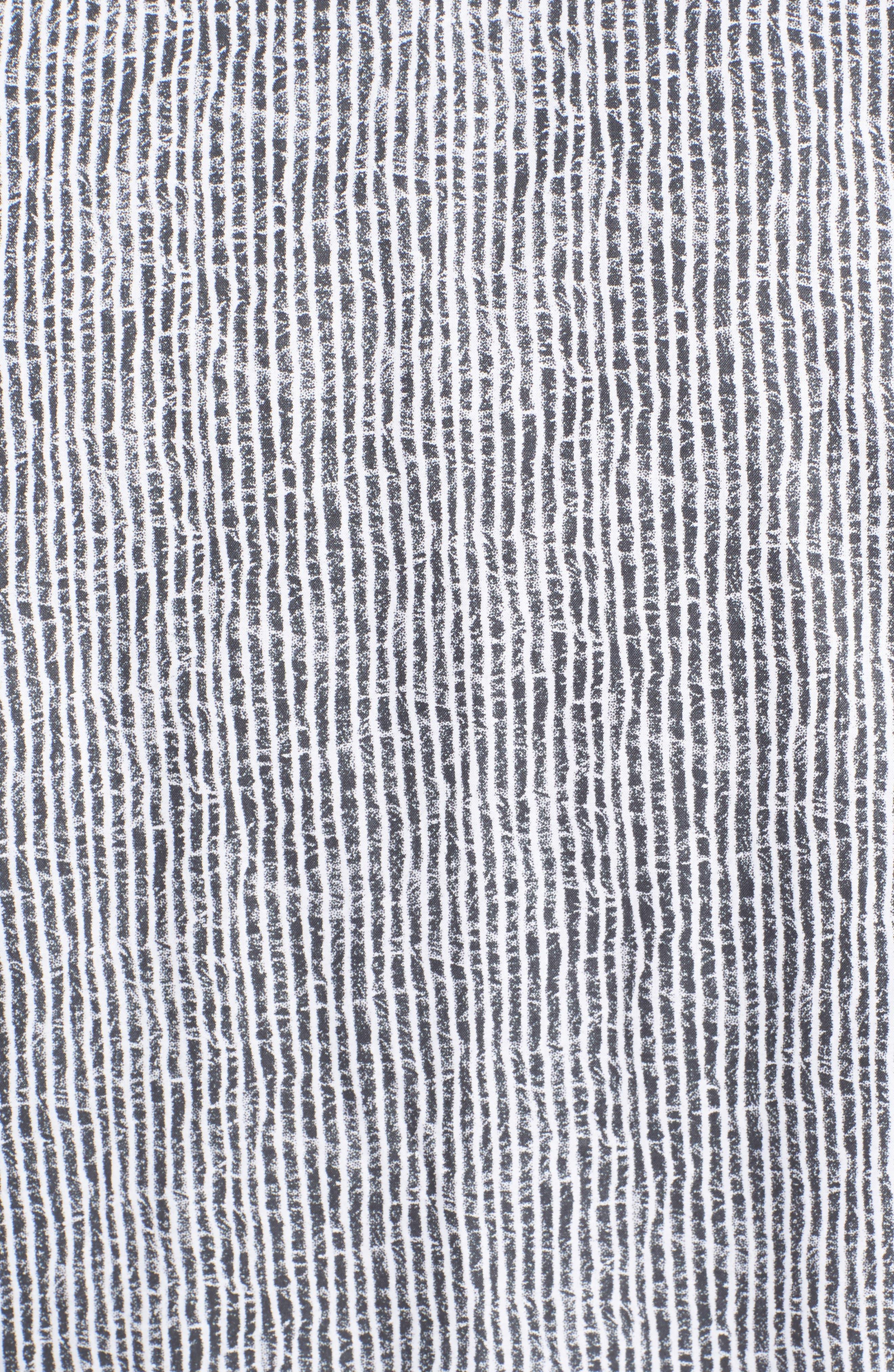Shaped Fit Stripe Sport Shirt,                             Alternate thumbnail 33, color,