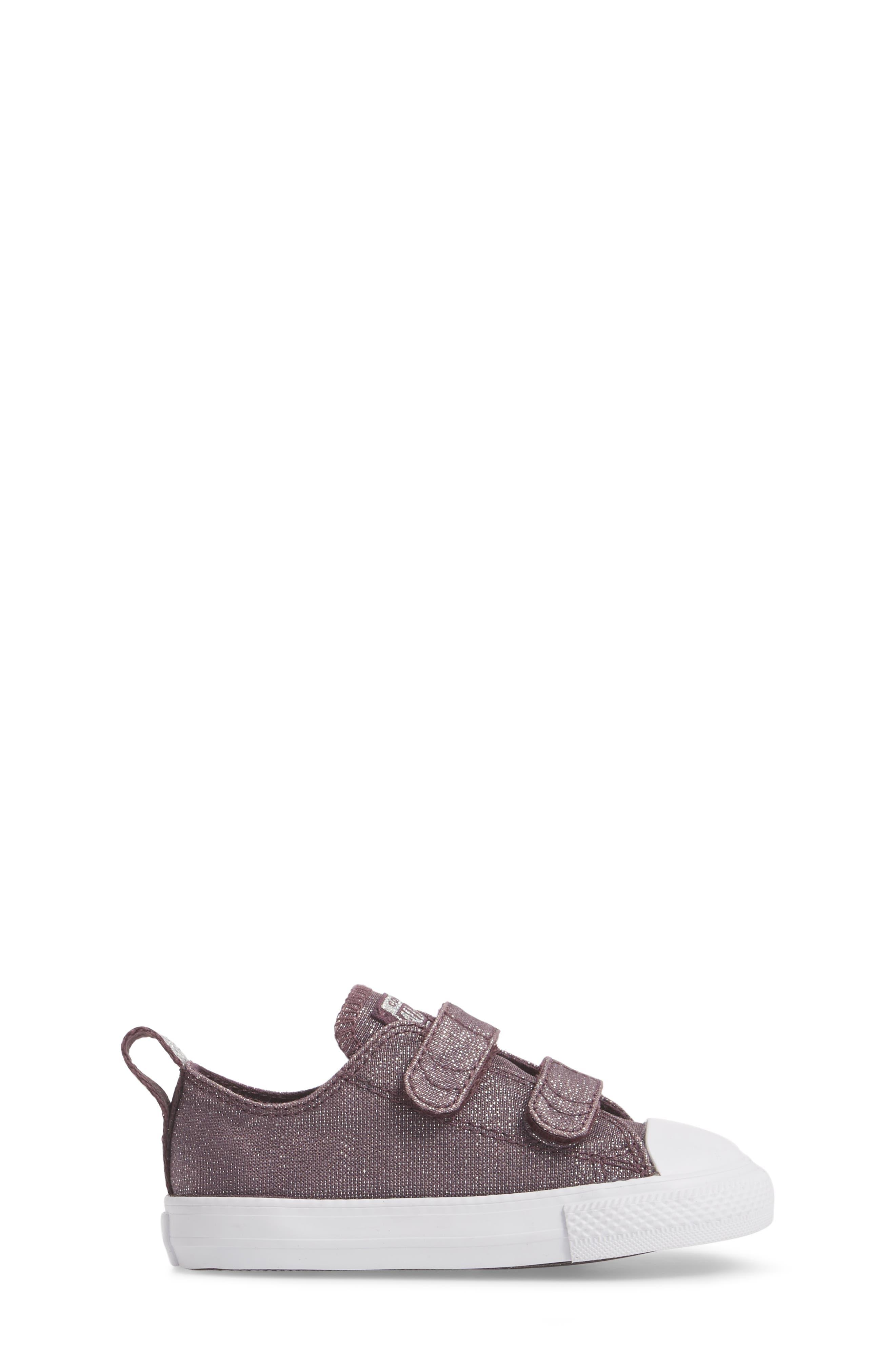 All Star<sup>®</sup> Shimmer 2V Sneaker,                             Alternate thumbnail 3, color,                             555