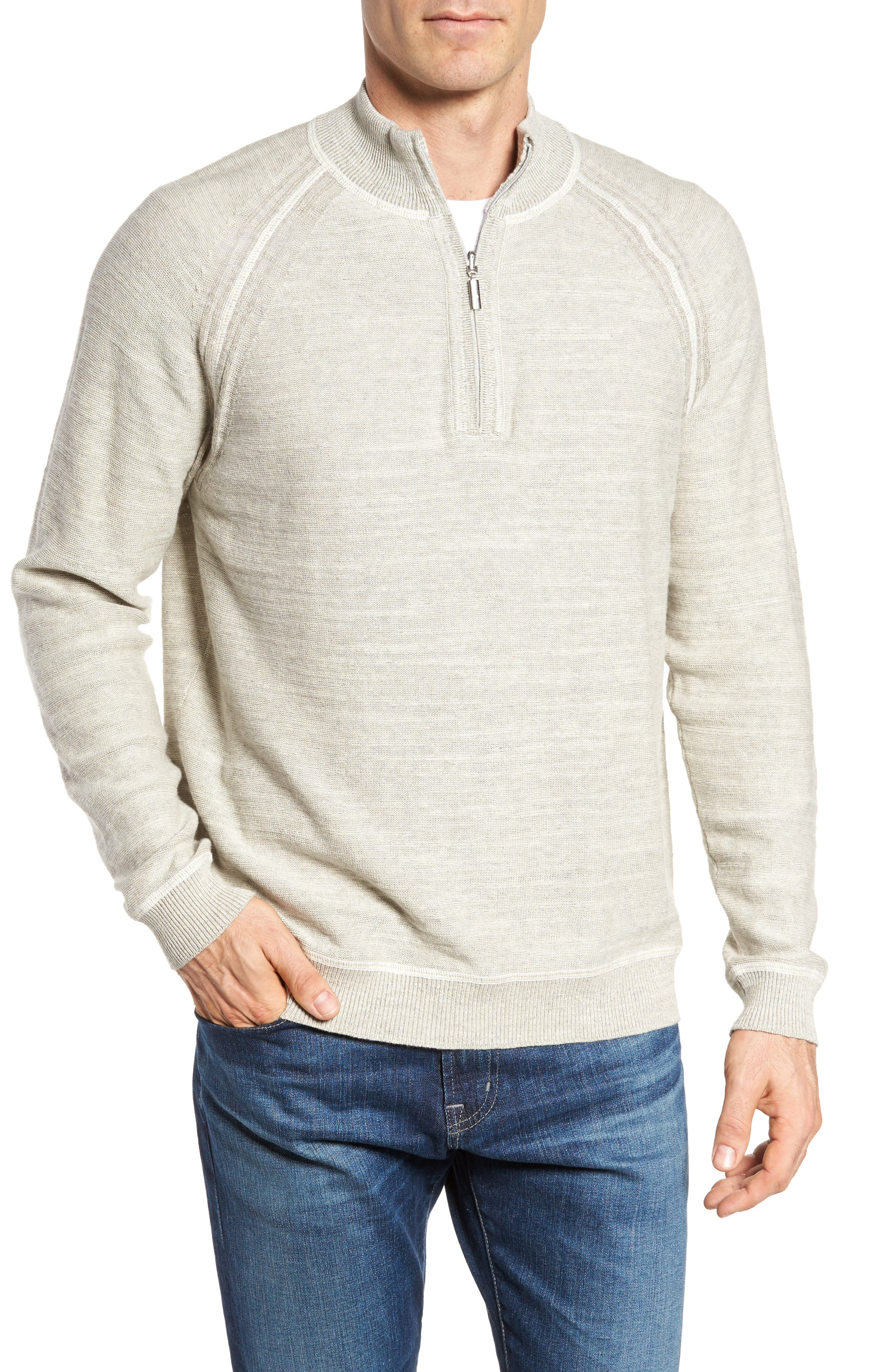 Sandy Bay Half-Zip Pullover,                         Main,                         color, 200