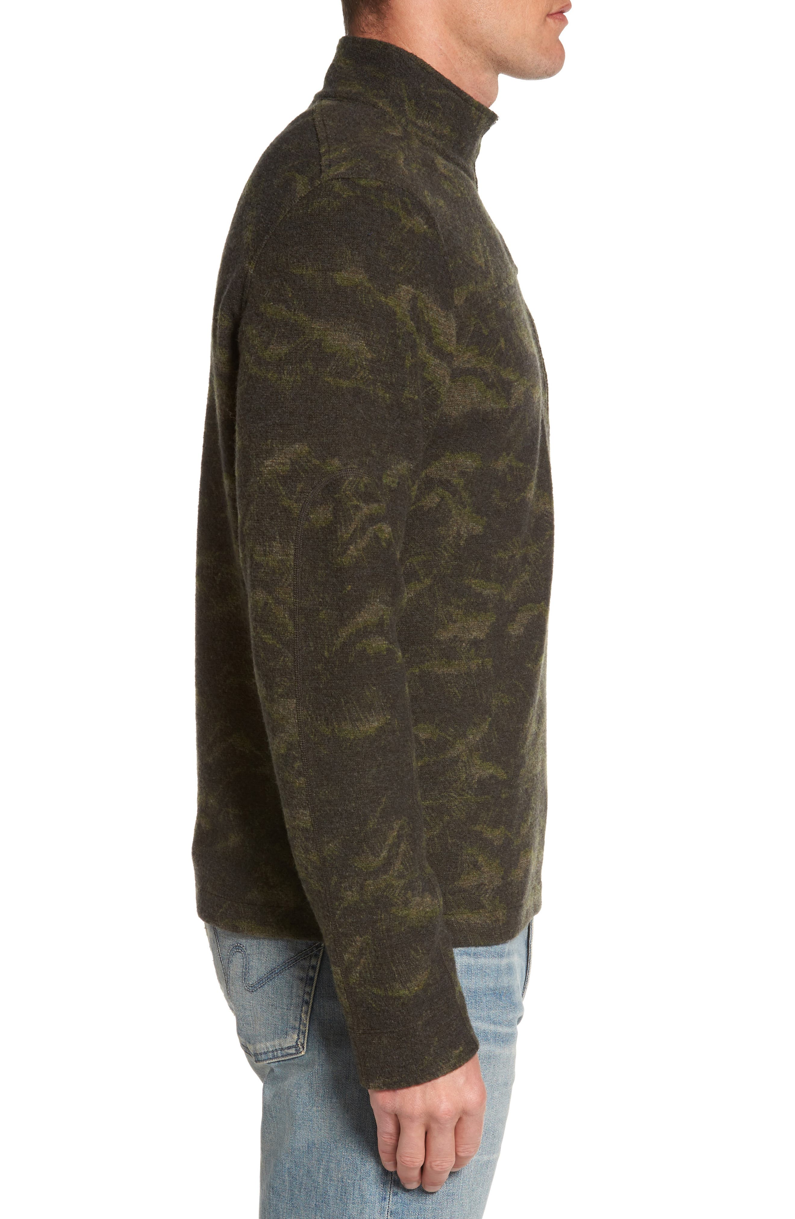 Scout Jura Merino Wool Blend Quarter Zip Pullover,                             Alternate thumbnail 12, color,