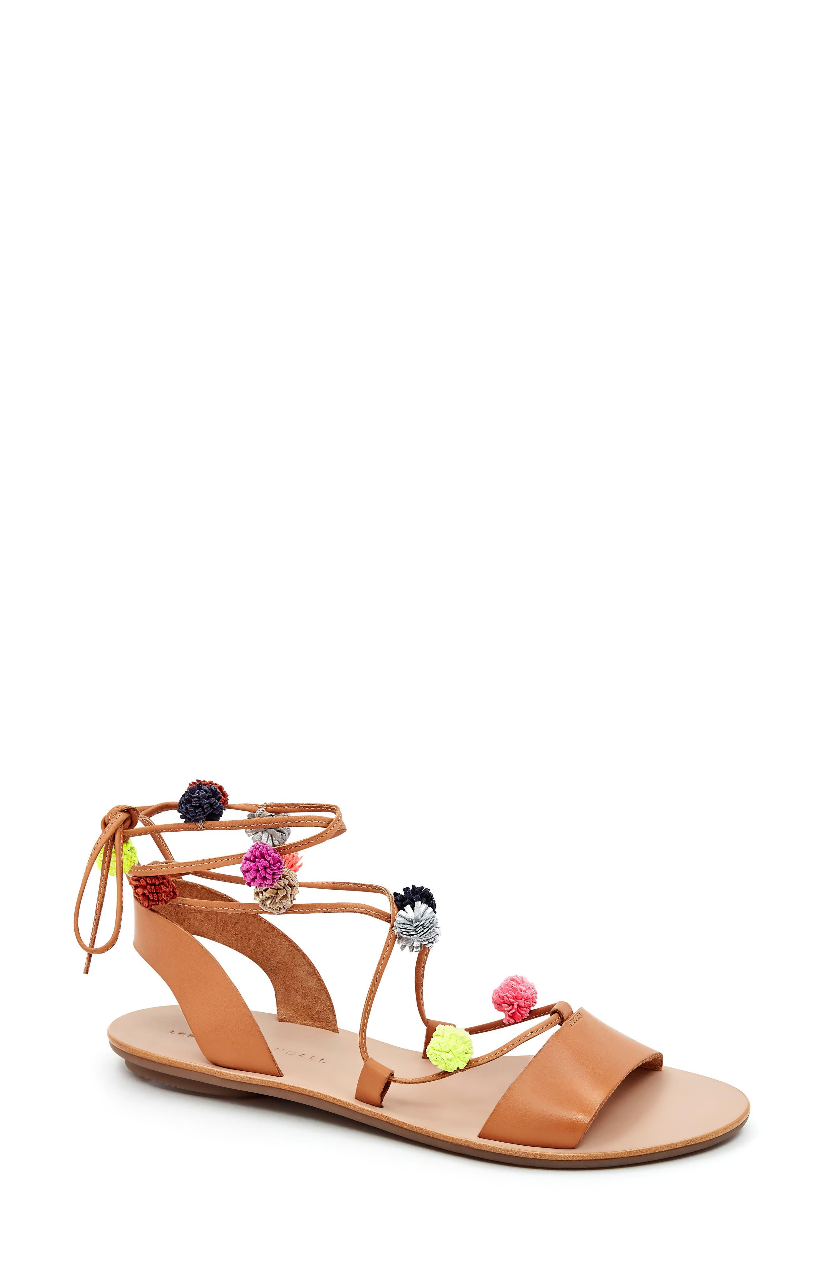 'Saskia' Flat Sandal,                             Main thumbnail 1, color,                             209