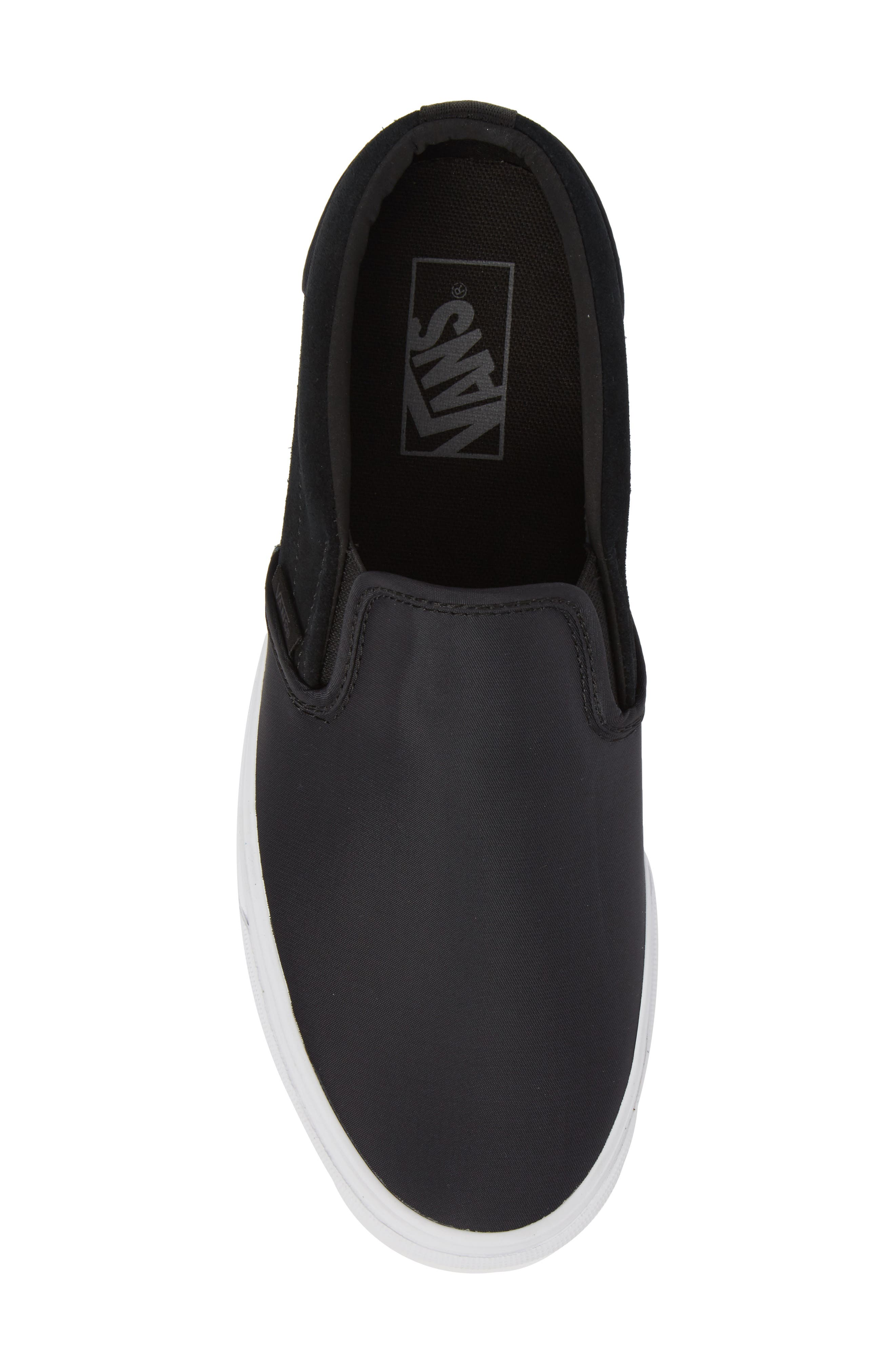 Surplus Nylon Slip-On Sneaker,                             Alternate thumbnail 5, color,                             001