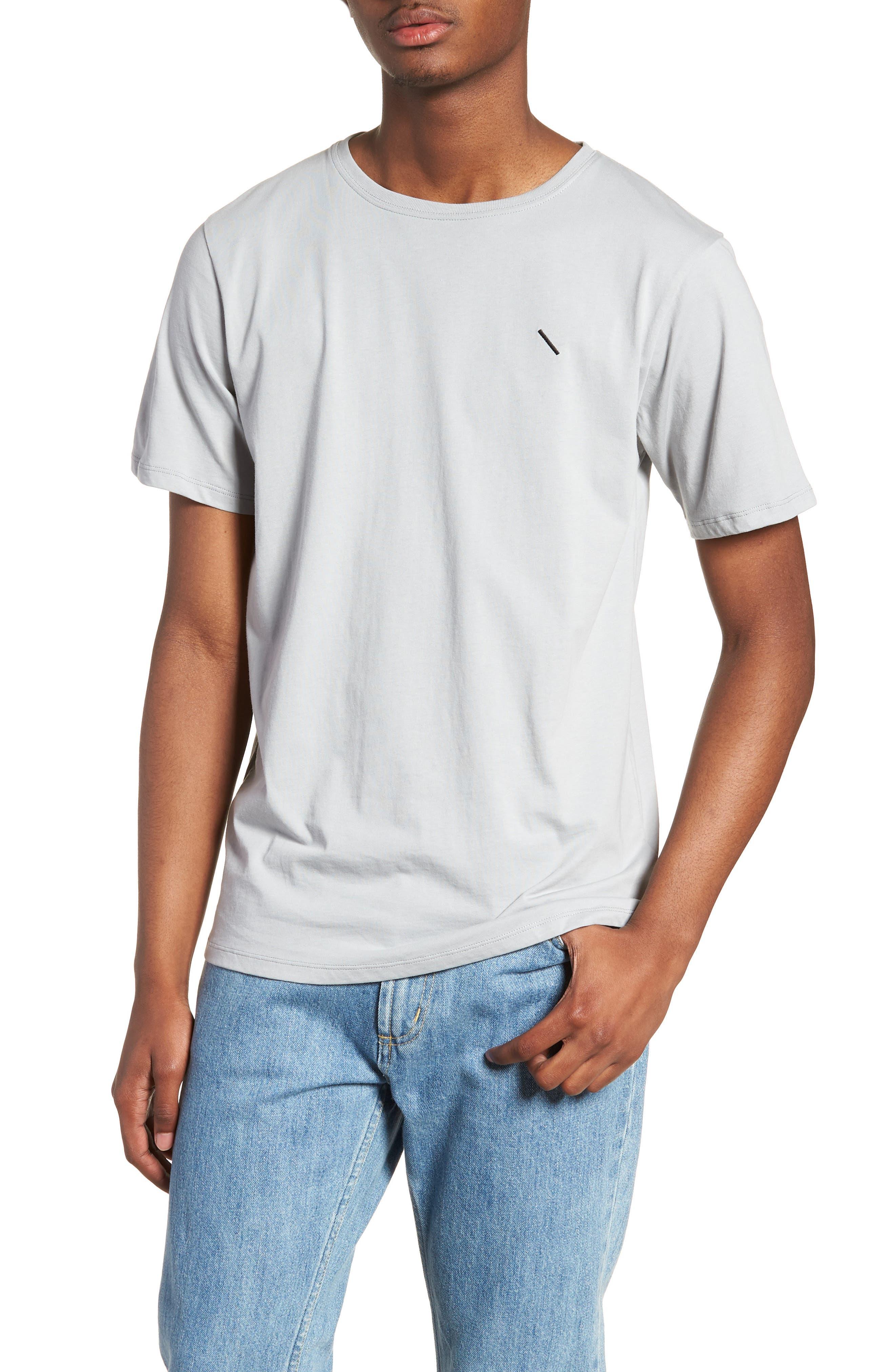 Embroidered Slash T-Shirt,                             Main thumbnail 1, color,