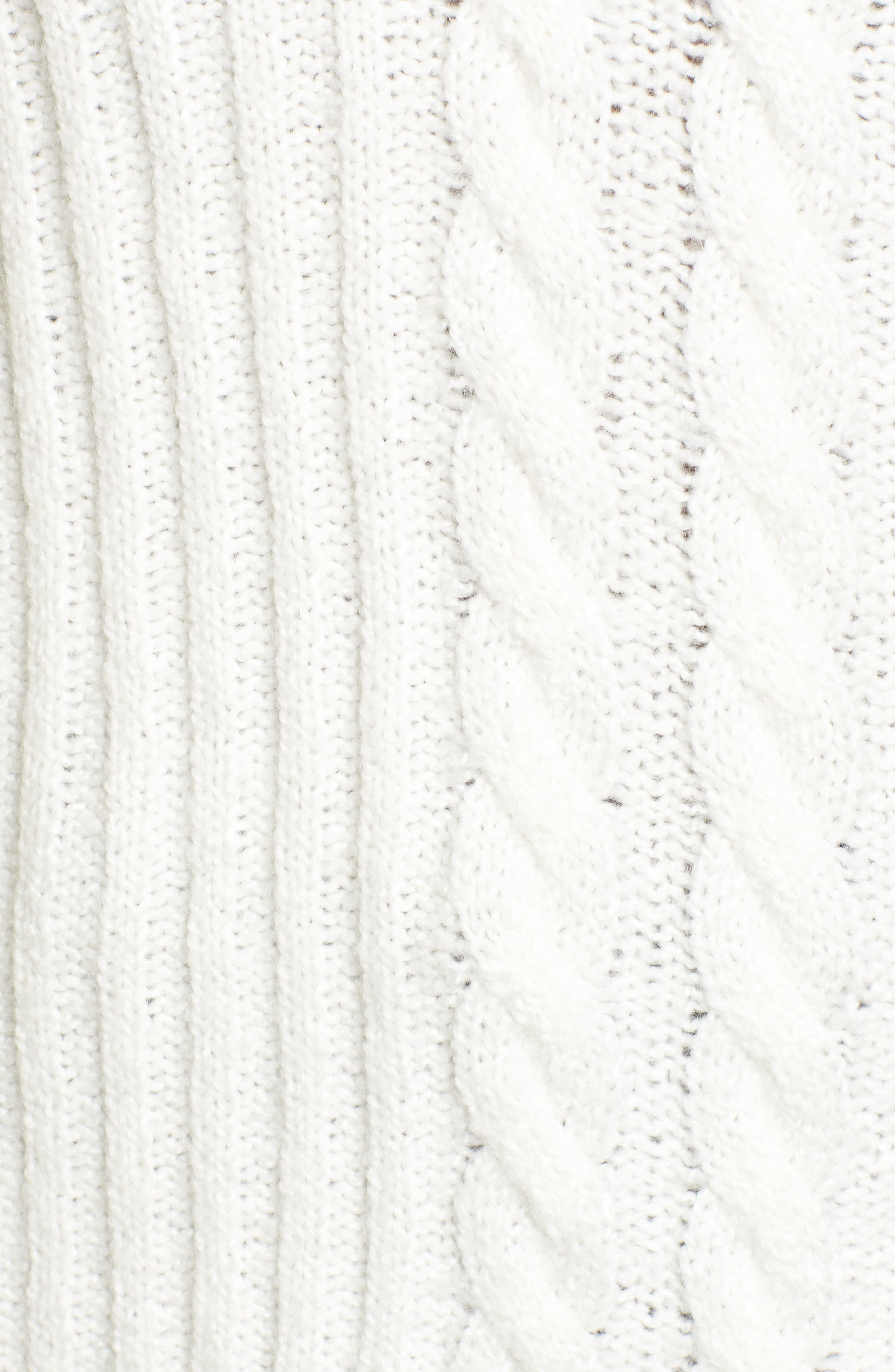 Mix Stitch Cotton Blend Sweater,                             Alternate thumbnail 10, color,