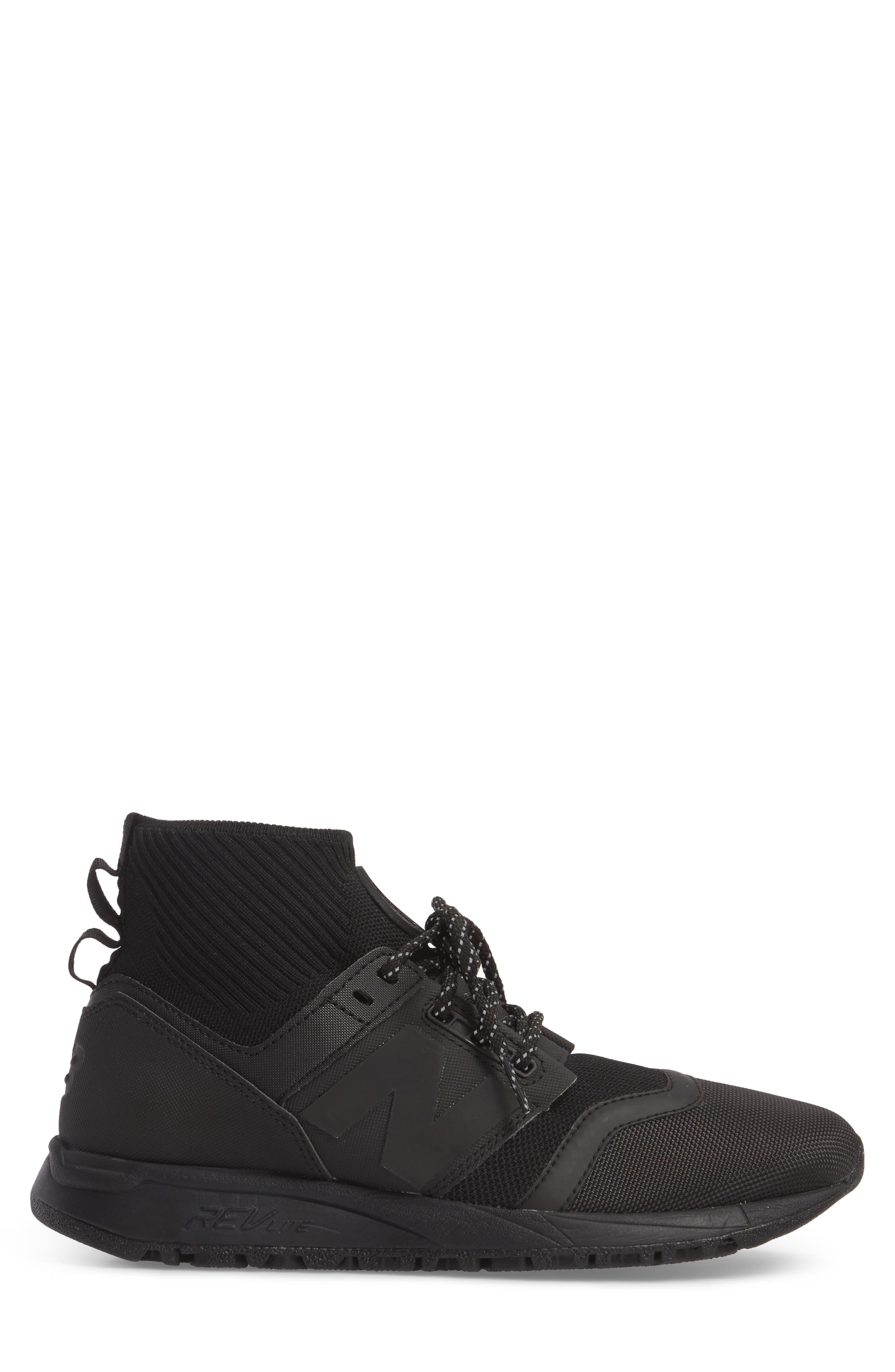 247 Mid Sneaker,                             Alternate thumbnail 9, color,