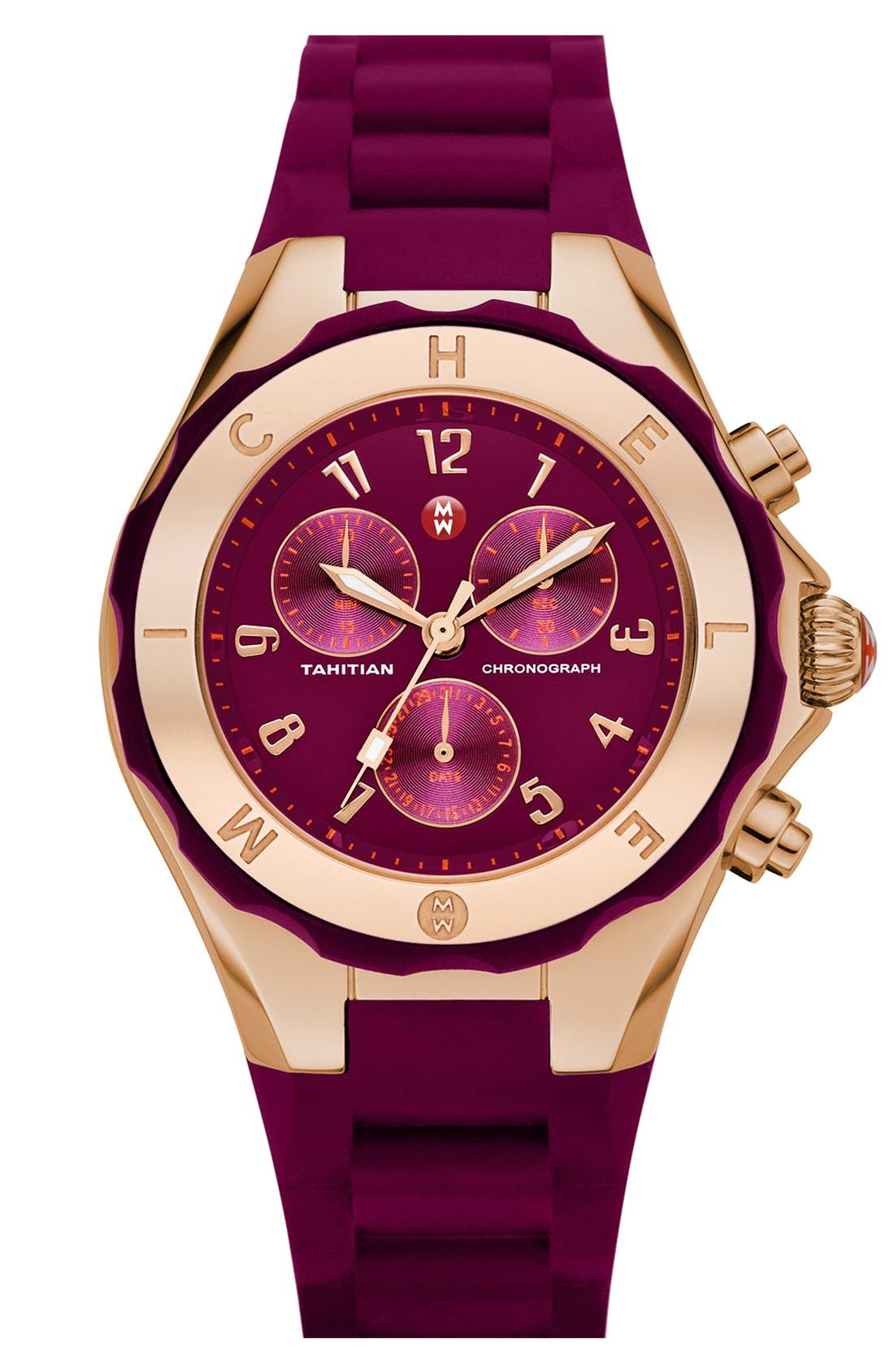 'Tahitian Jelly Bean' Gold Plated Watch, 40mm,                             Main thumbnail 24, color,