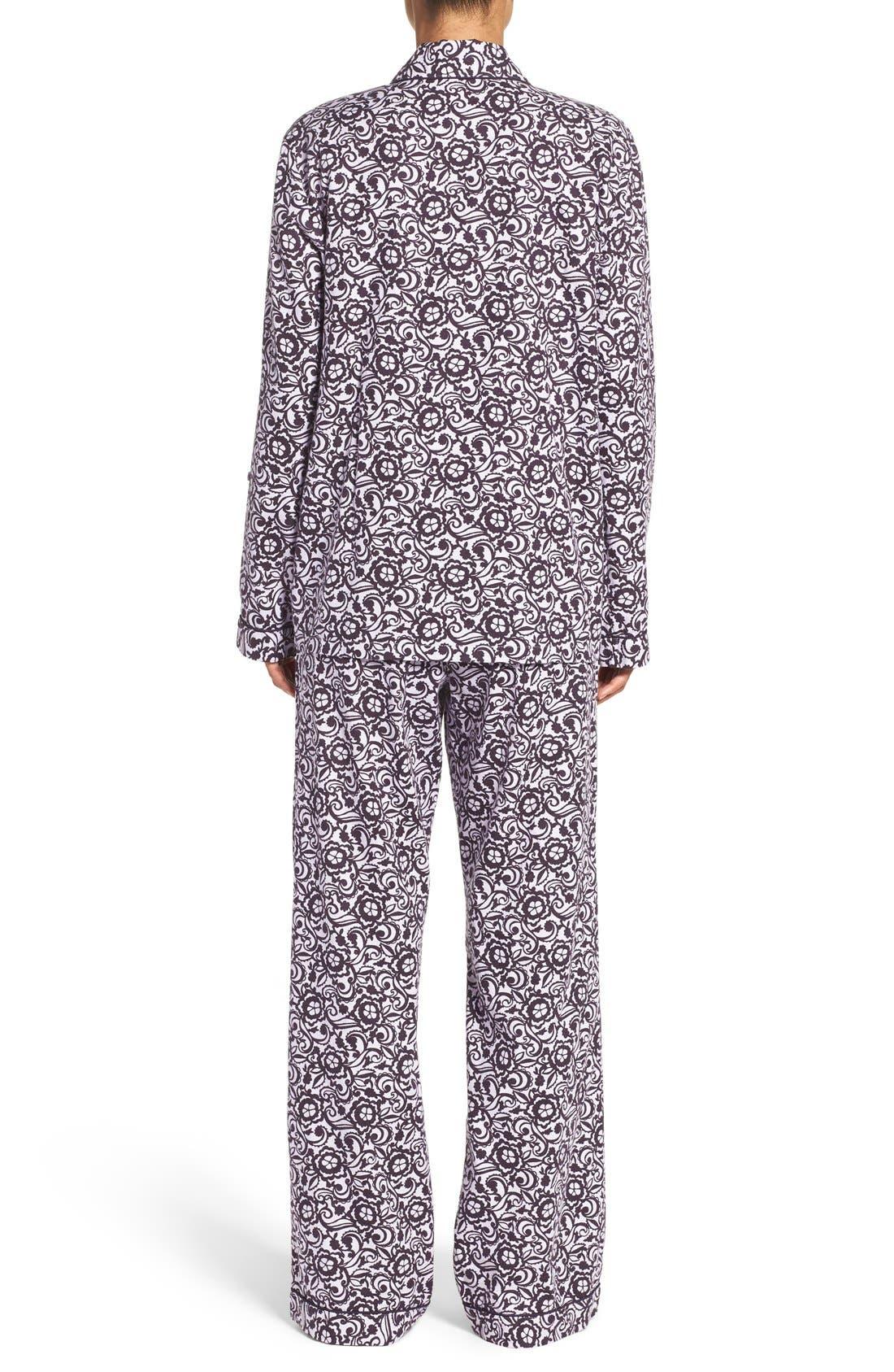 Cotton Twill Pajamas,                             Alternate thumbnail 36, color,