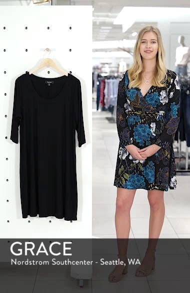 Scoop Neck Jersey Dress, sales video thumbnail