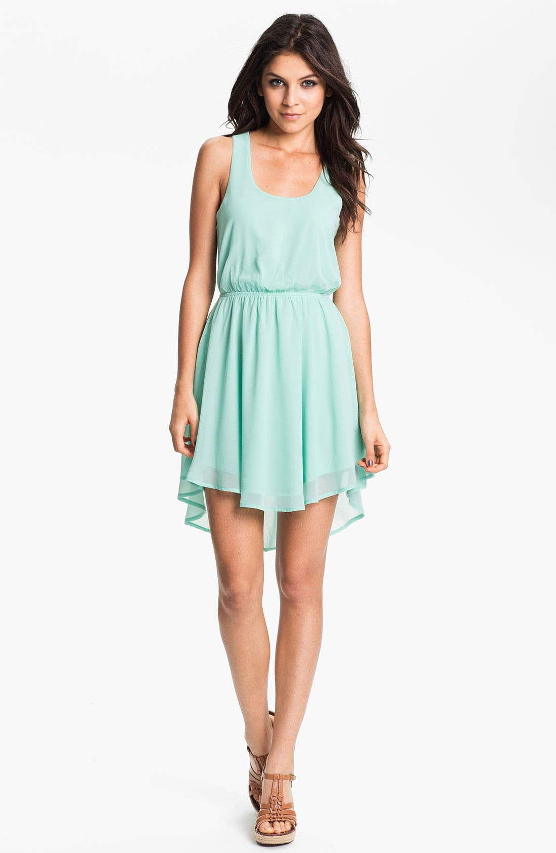 ---,                             Colorblock Cutout Dress,                             Main thumbnail 1, color,                             325