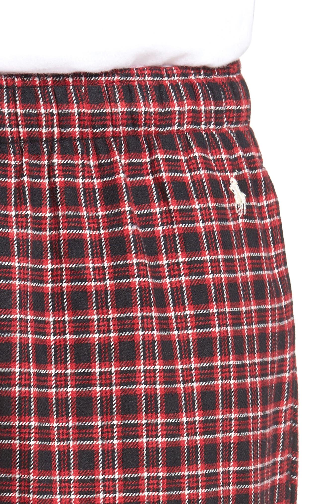 Flannel Pajama Pants,                             Alternate thumbnail 41, color,