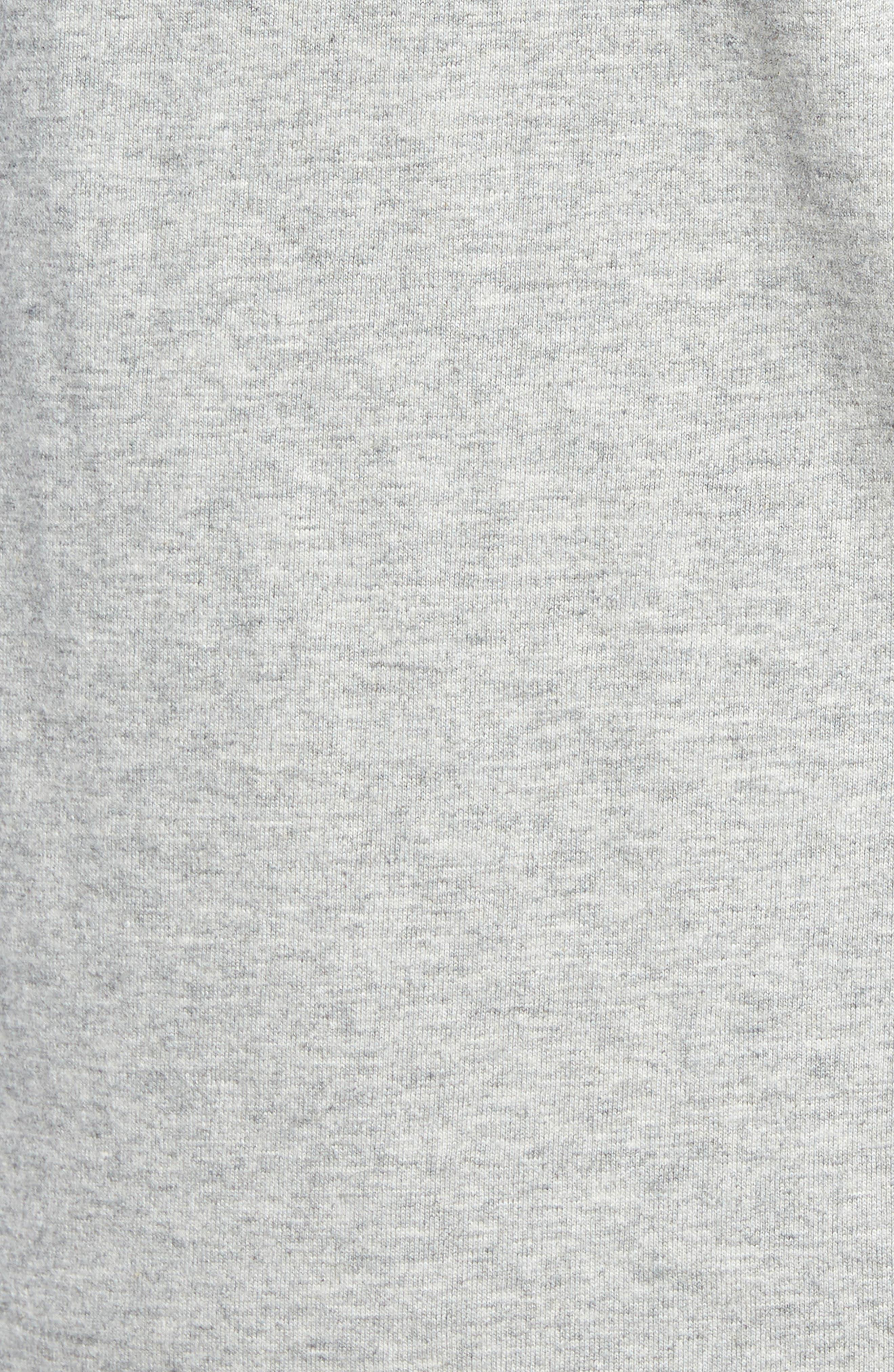 Denton Long Sleeve Henley,                             Alternate thumbnail 5, color,                             CEMENT HEATHER/ PORT ROYALE