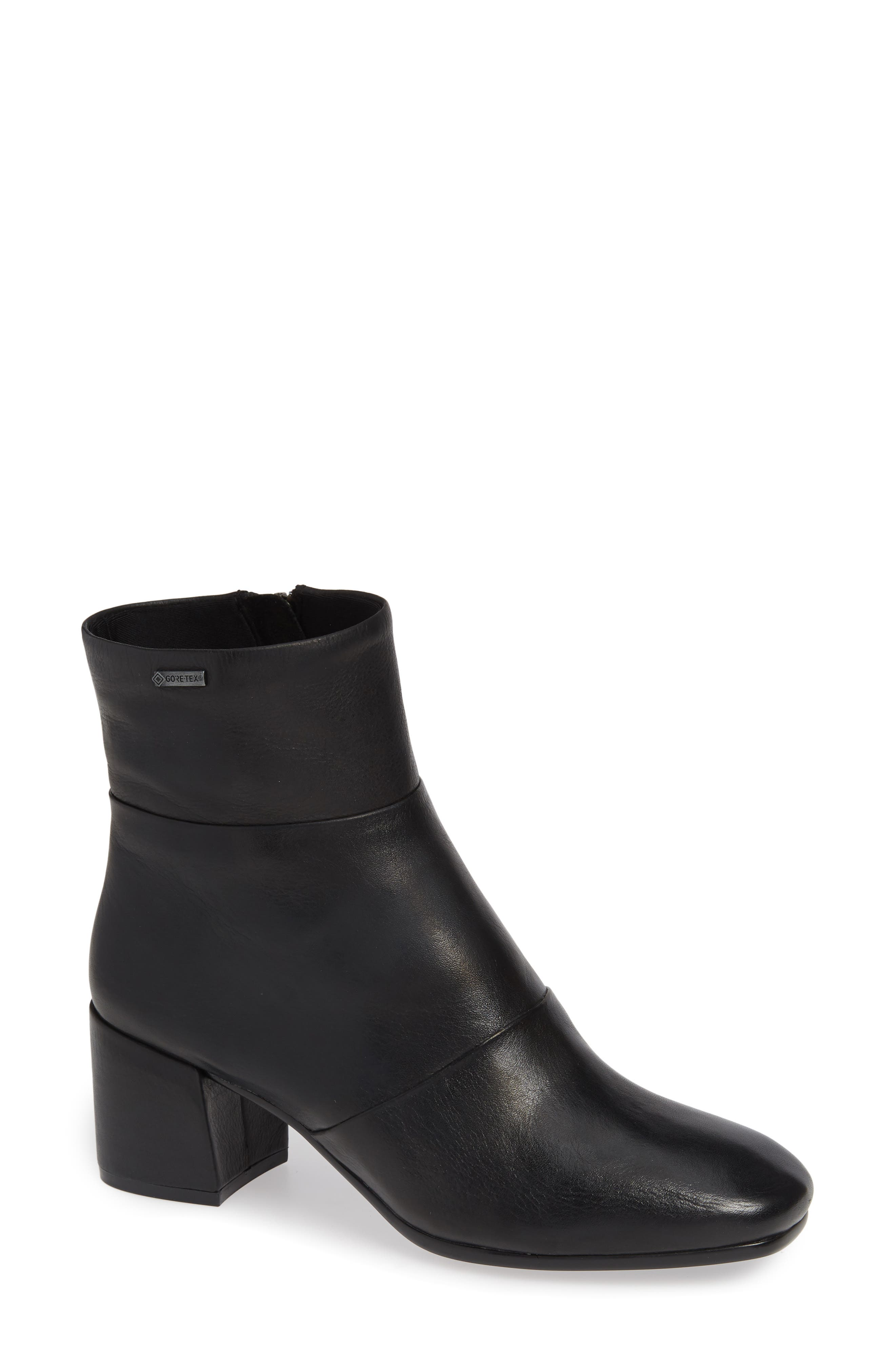 Eryc Bootie,                             Main thumbnail 1, color,                             BLACK LEATHER