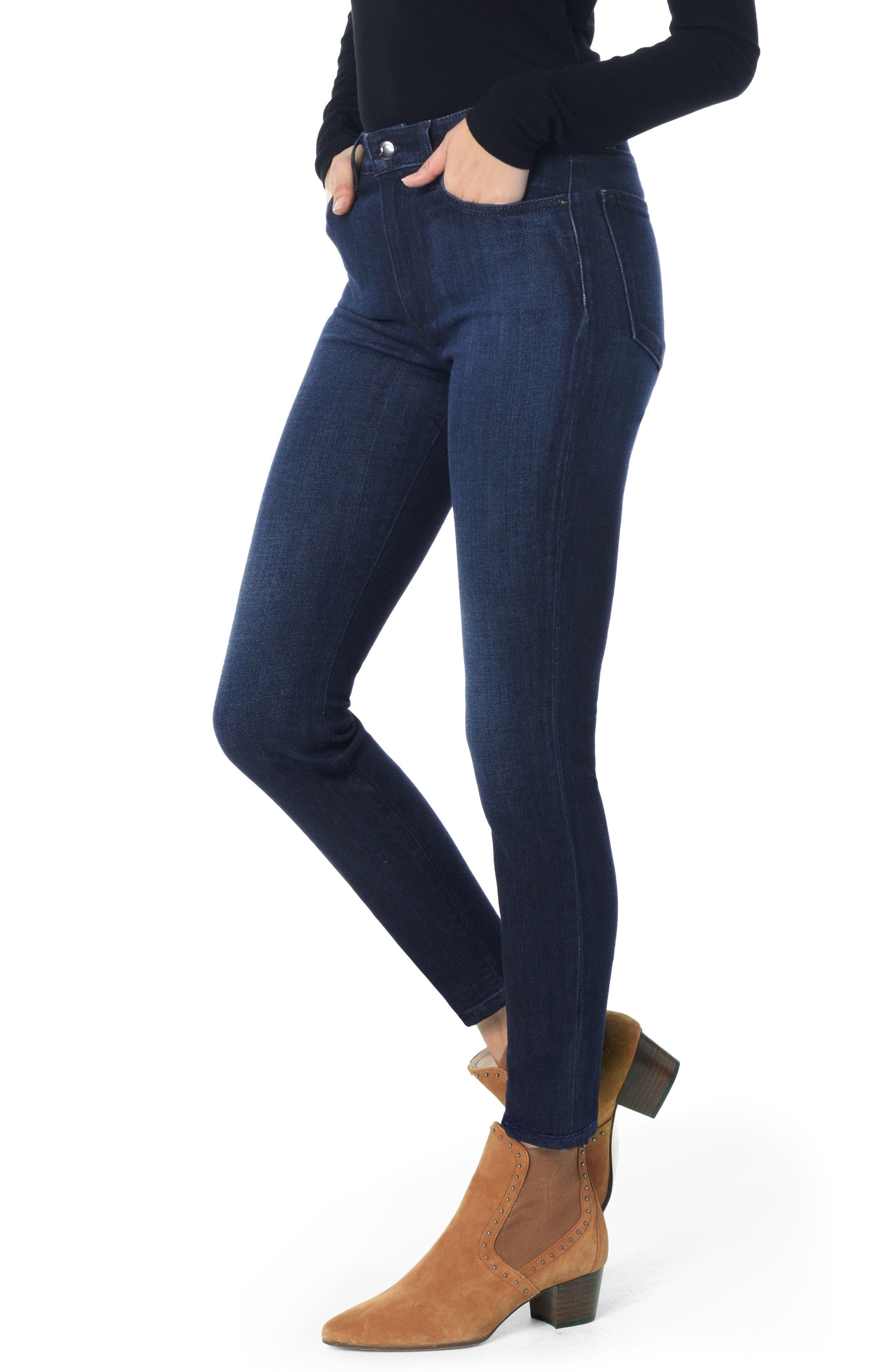 Charlie High Waist Ankle Skinny Jeans,                         Main,                         color, 405