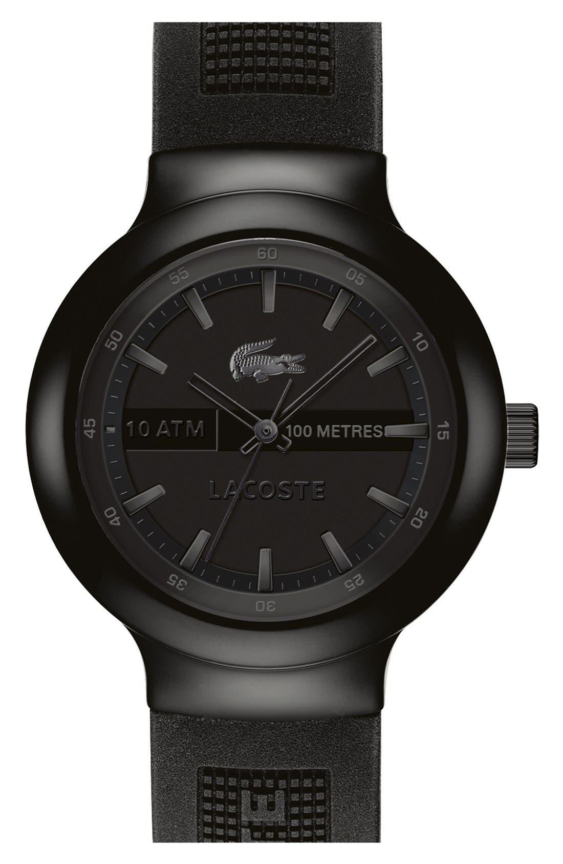 'Boreno' Silicone Strap Watch, 44mm,                             Main thumbnail 3, color,