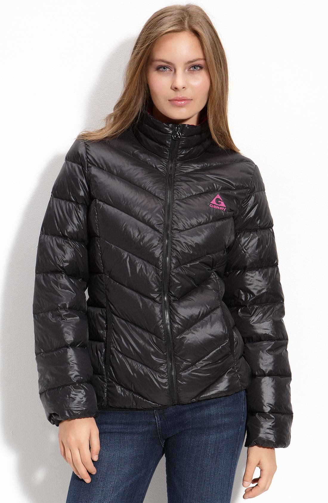 Packable Down Jacket, Main, color, 001
