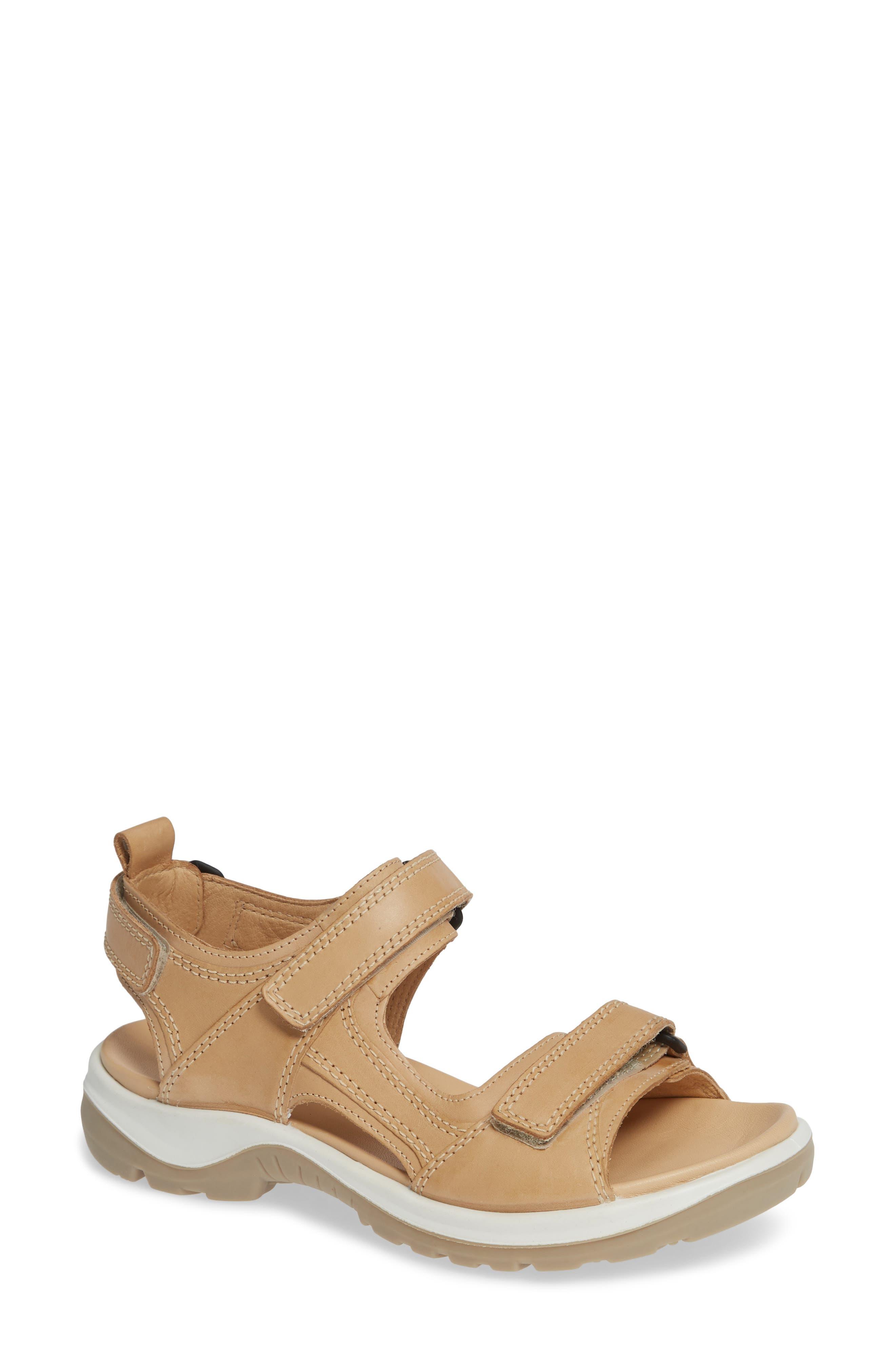 Ecco Premium Offroad Sandal, Beige