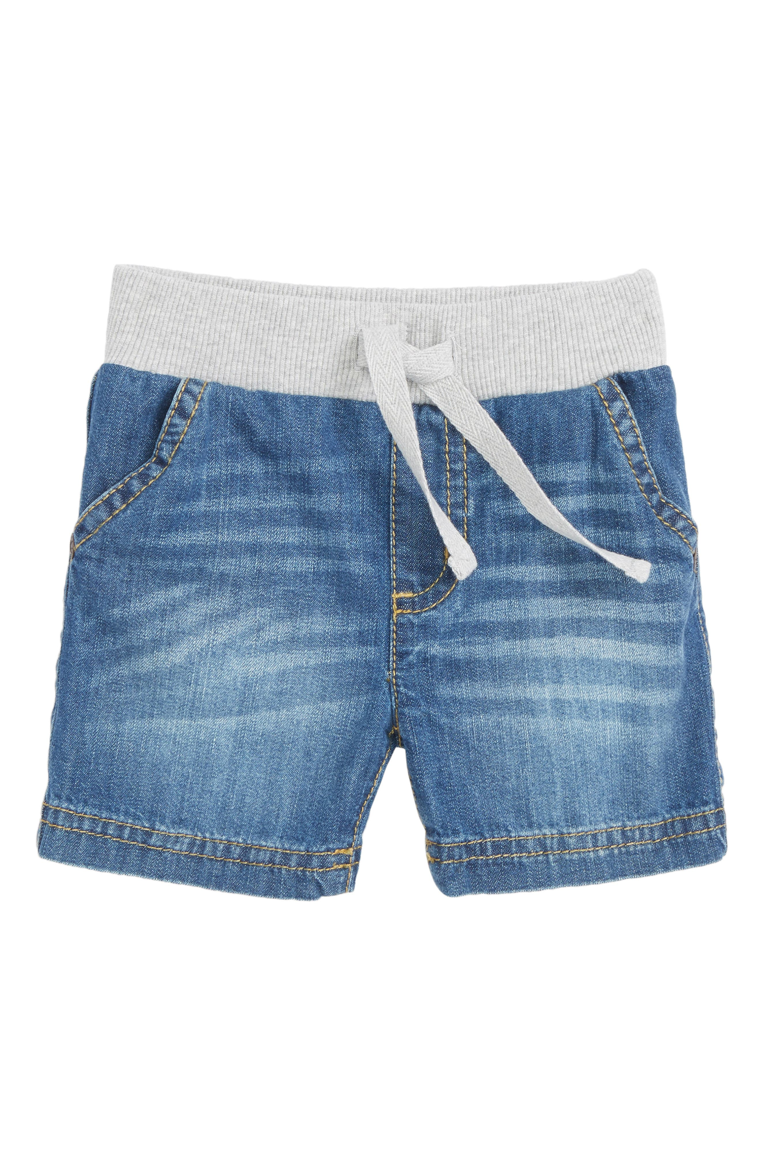 Woven Cotton Shorts,                         Main,                         color, 420