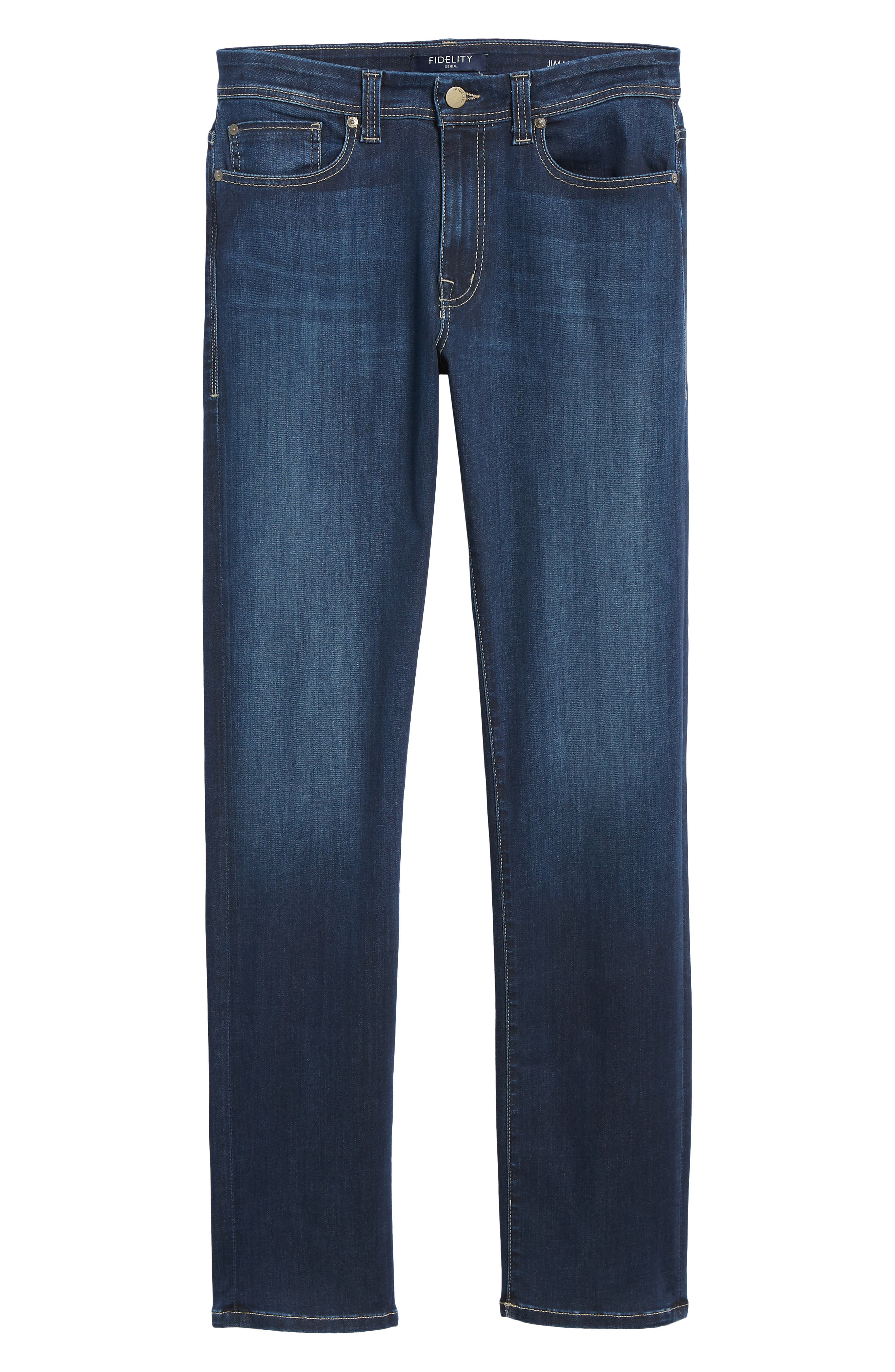 Jimmy Slim Straight Leg Jeans,                             Alternate thumbnail 6, color,                             STRIKER