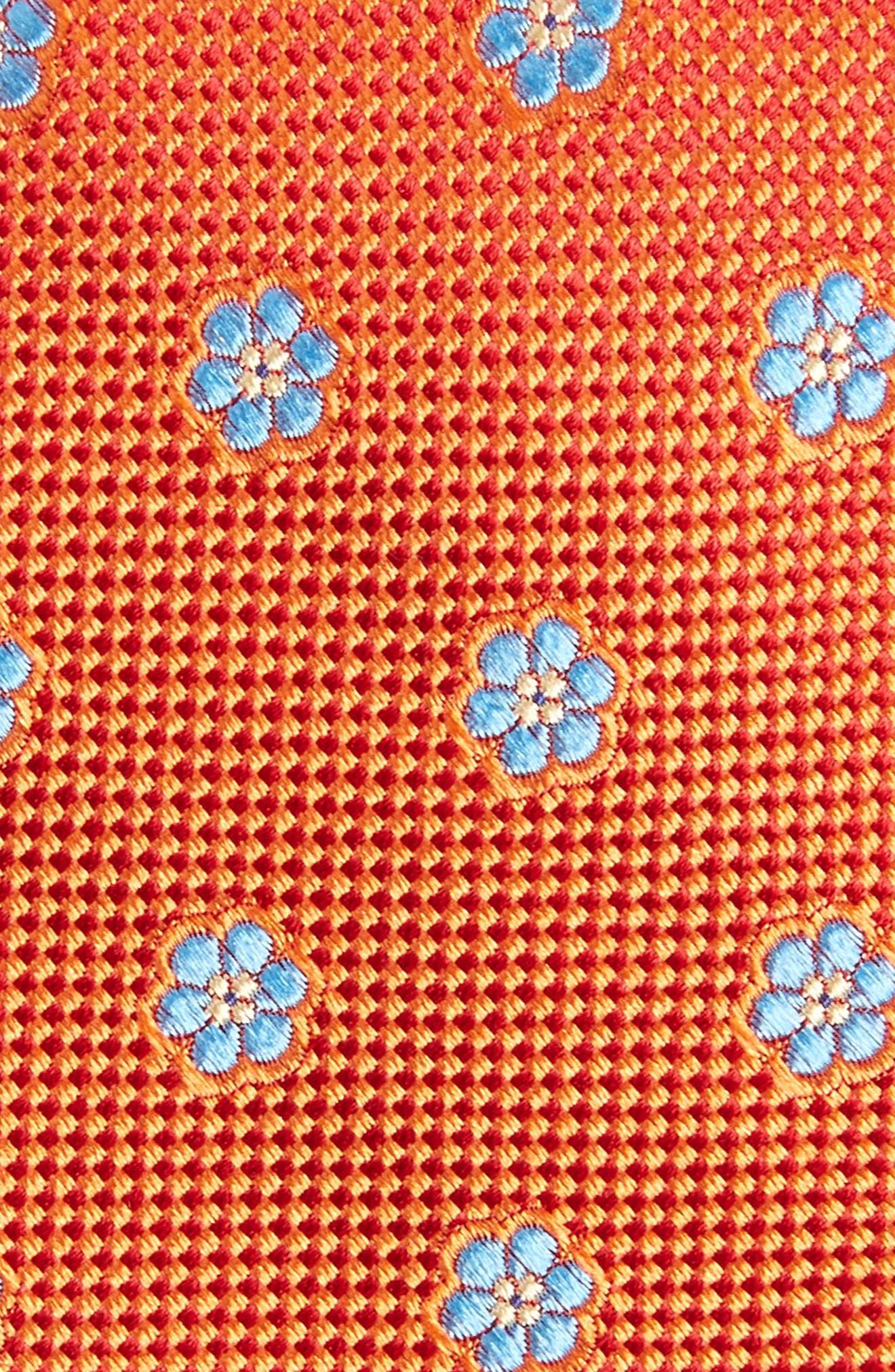 Calibrate Cloisters Neat Silk Tie,                             Alternate thumbnail 16, color,