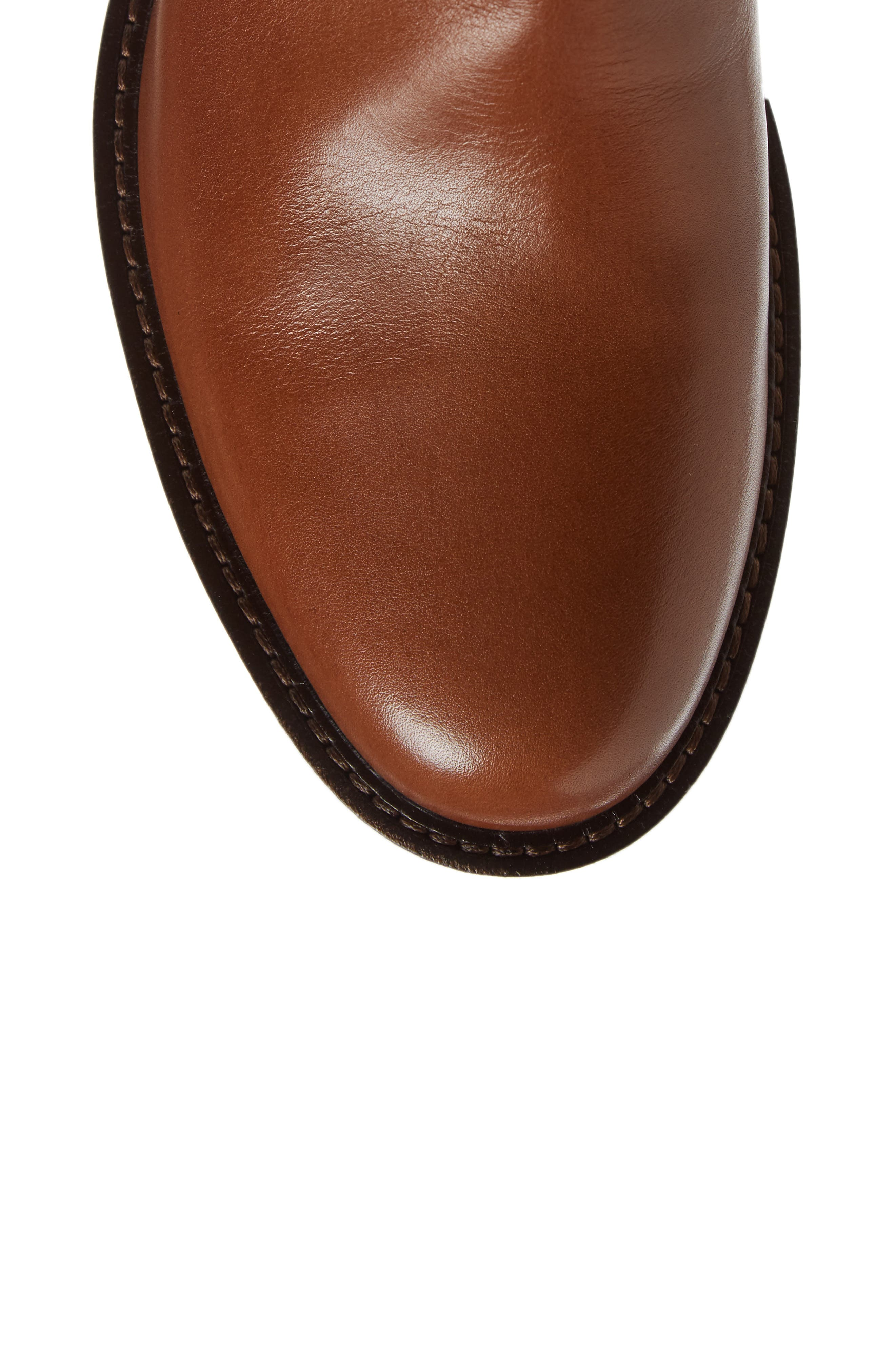 Shape 25 Tall Buckle Boot,                             Alternate thumbnail 5, color,                             CAMEL LEATHER