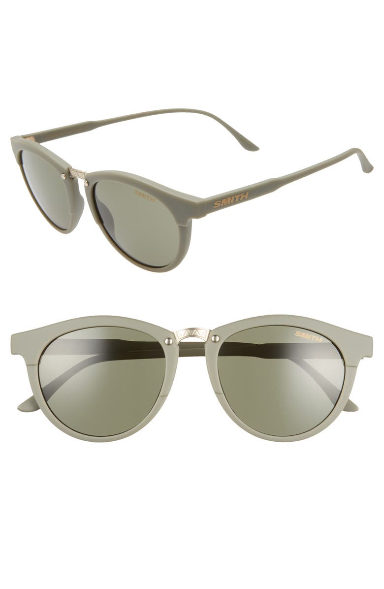 70c5191057 SMITH Questa 50mm ChromaPop sup ™  sup  Polarized Round Sunglasses