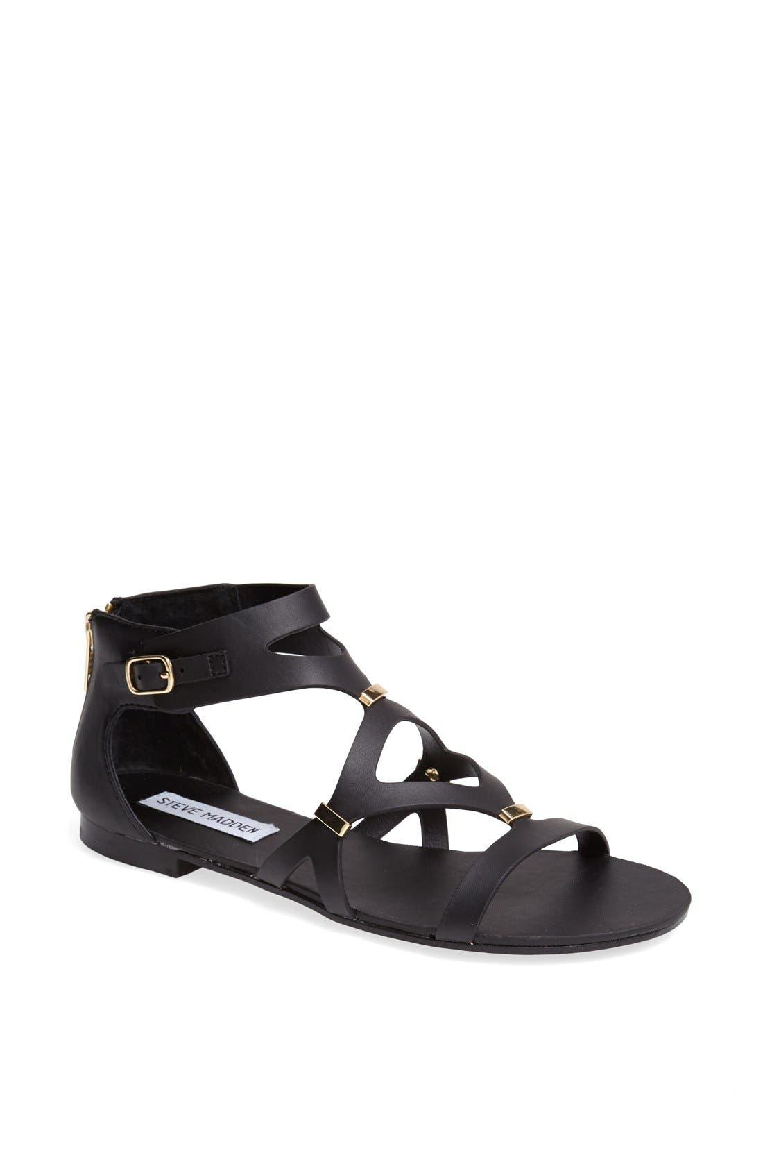 'Comma' Sandal,                         Main,                         color, 001