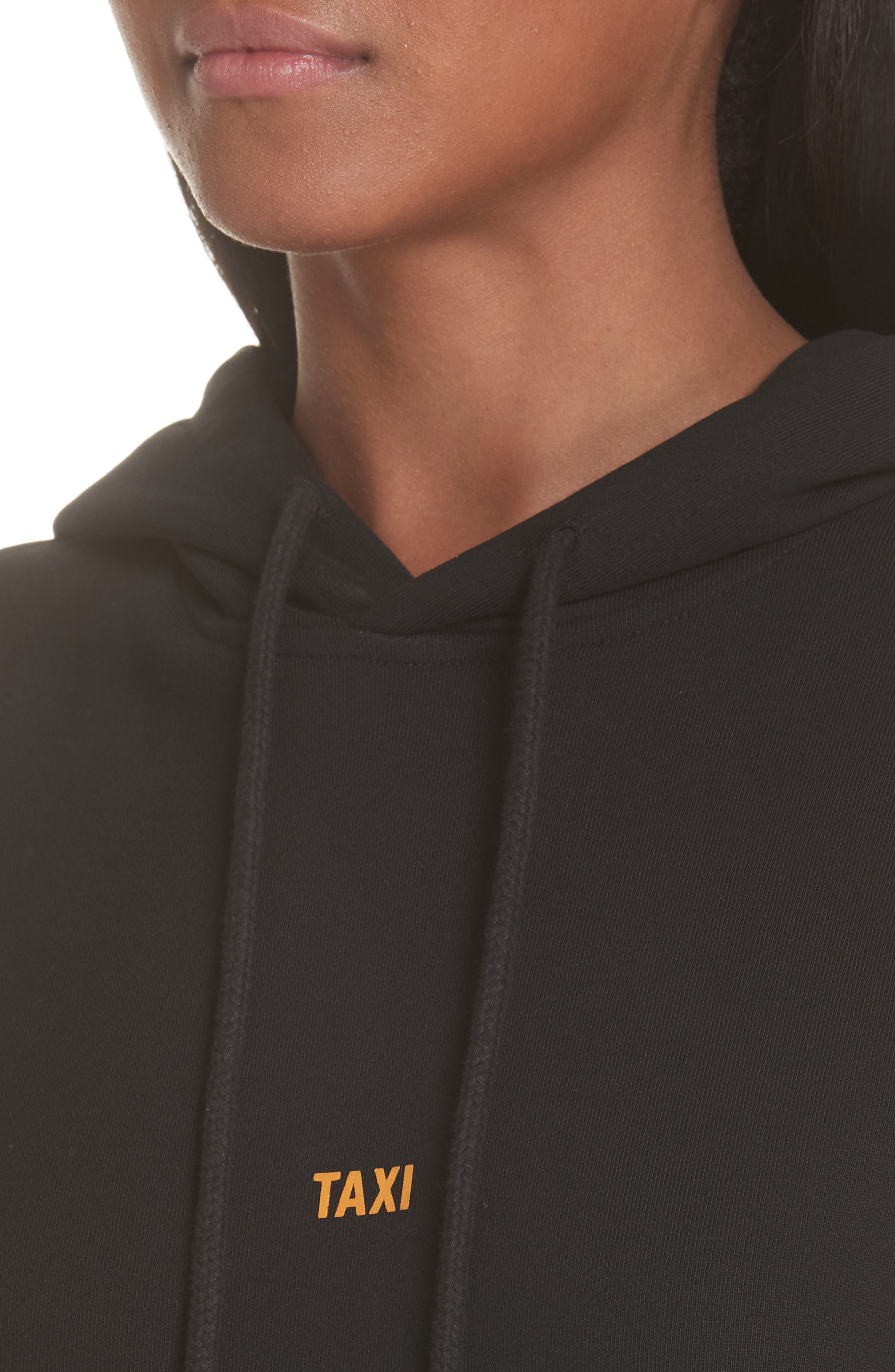Taxi Hoodie,                             Alternate thumbnail 4, color,                             001