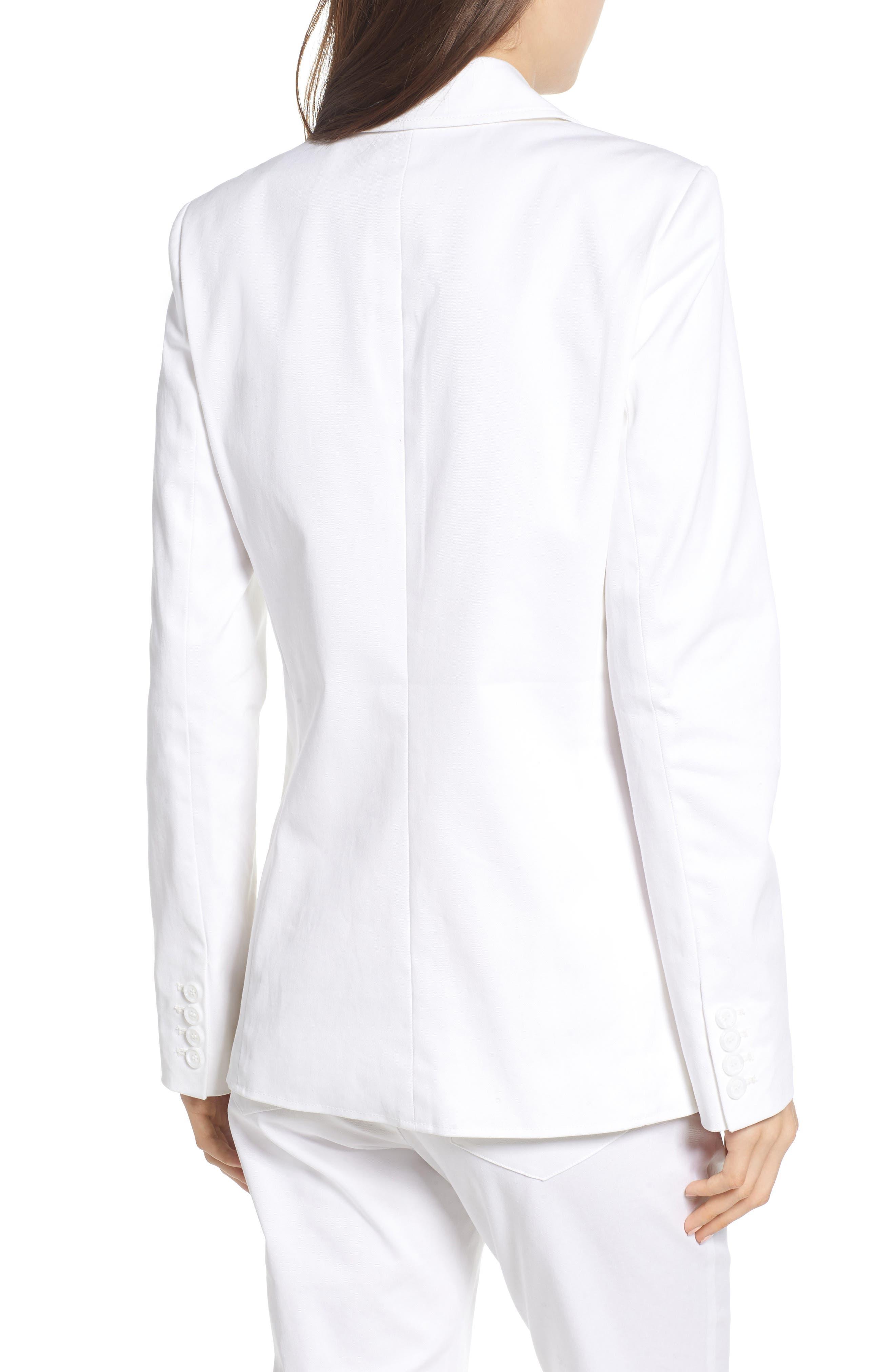 Merilee Jacket,                             Alternate thumbnail 2, color,                             WHITE