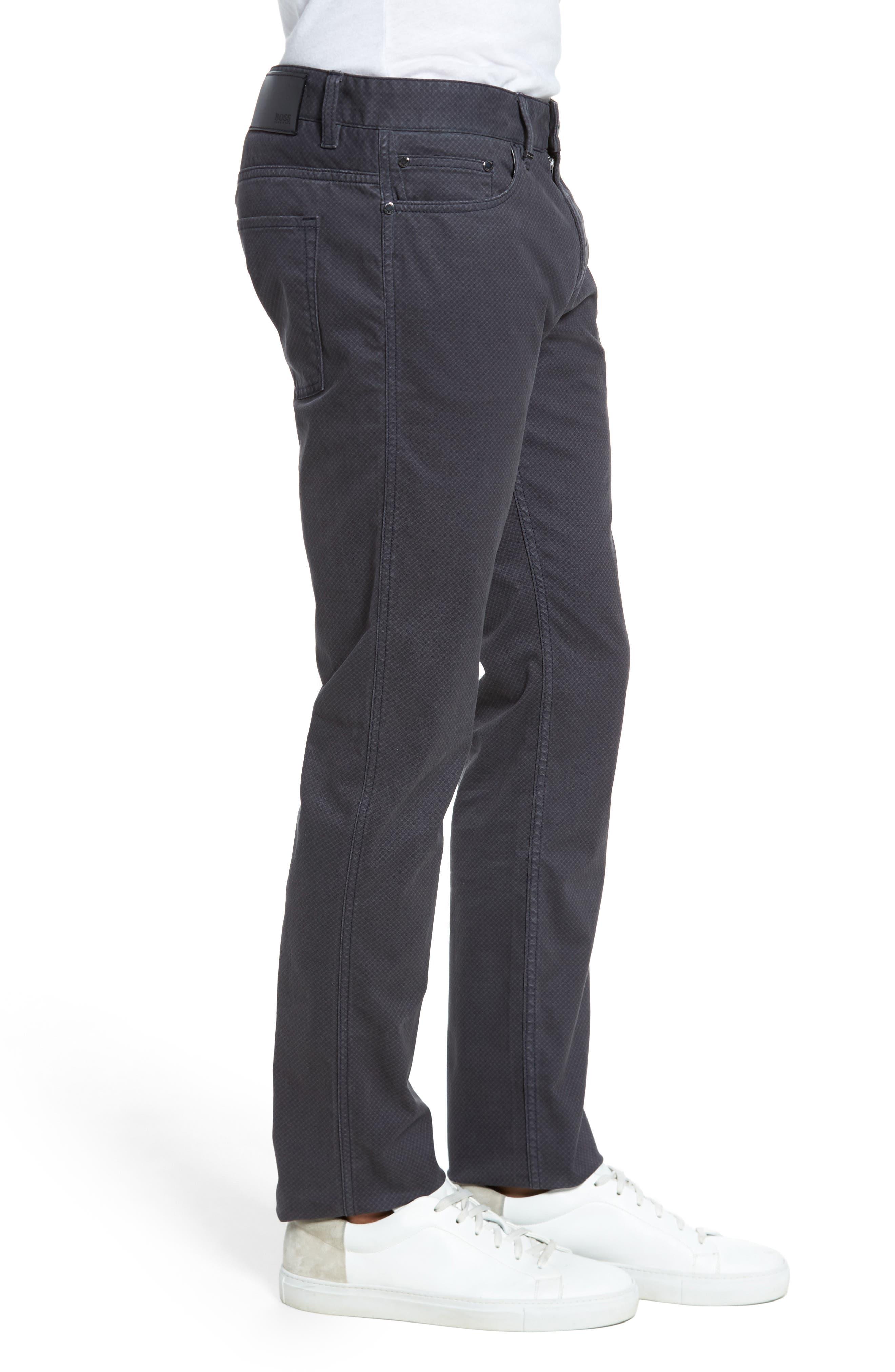 Delaware Slim Fit Pants,                             Alternate thumbnail 4, color,                             022