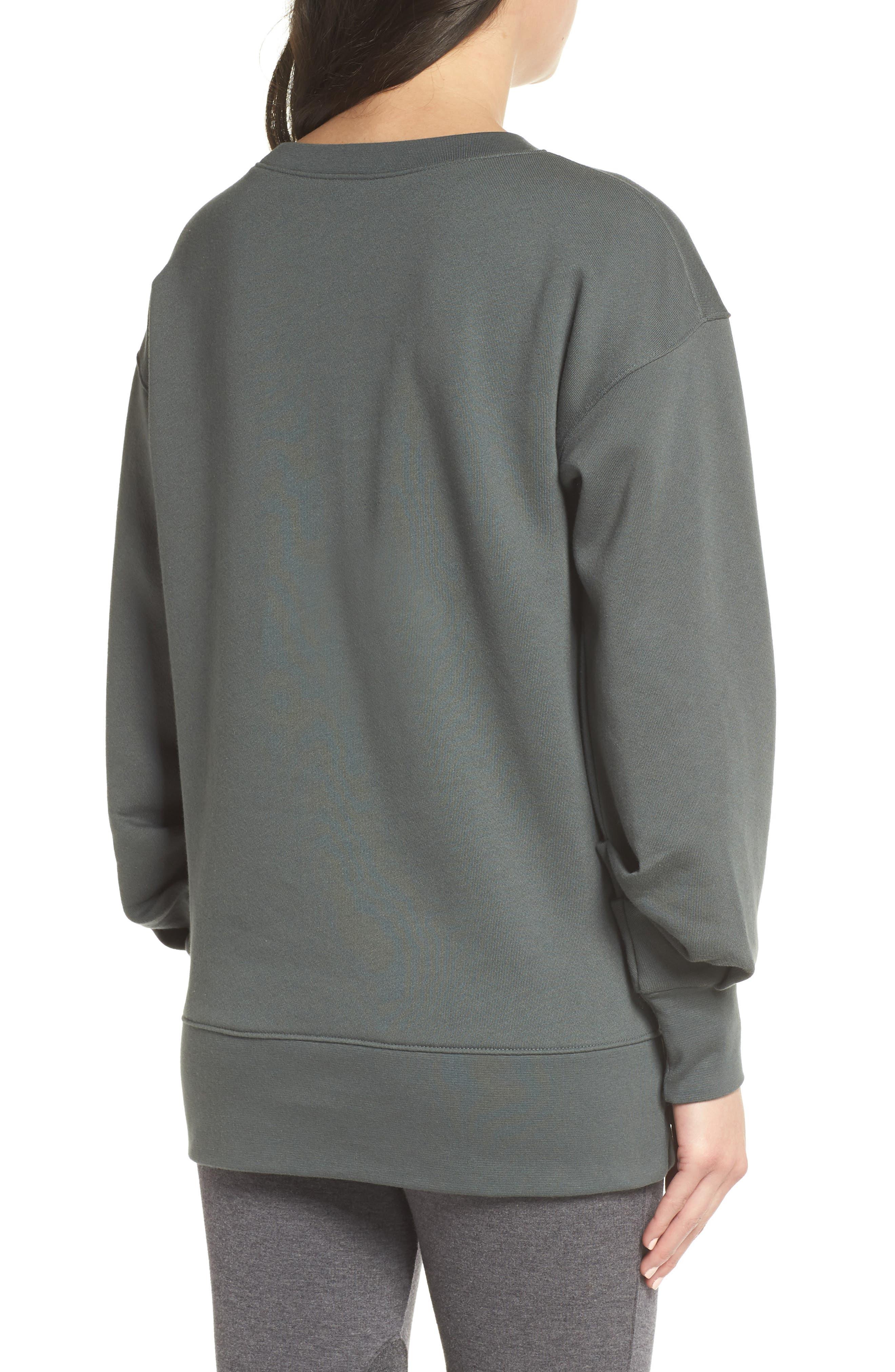 Boxy Oversize Sweatshirt,                             Alternate thumbnail 6, color,