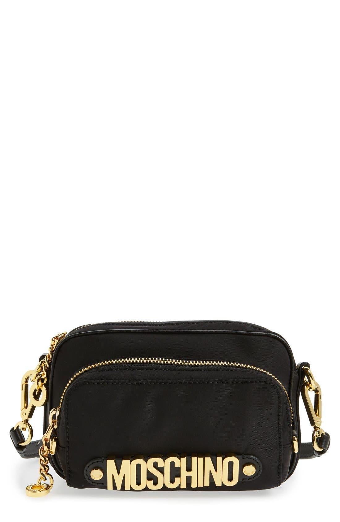 Nylon Camera Bag, Main, color, 001