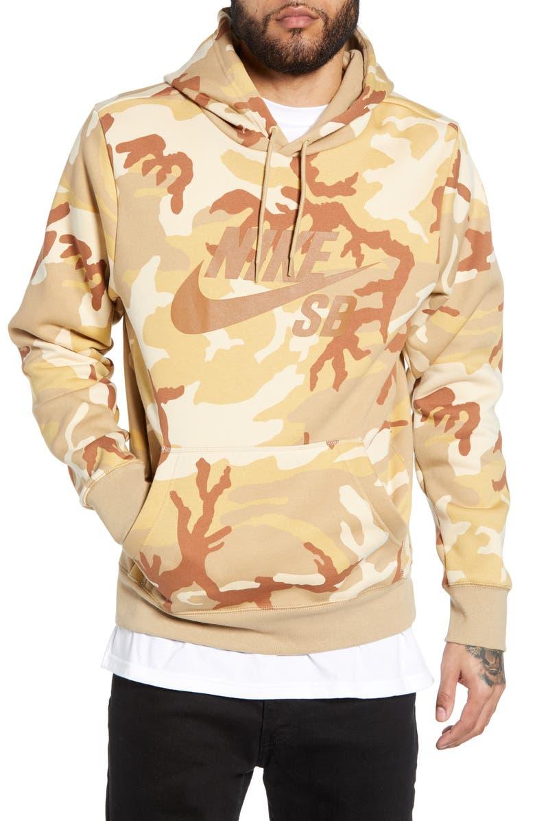 92bddfe89eacb Nike SB Icon Camo Hoodie