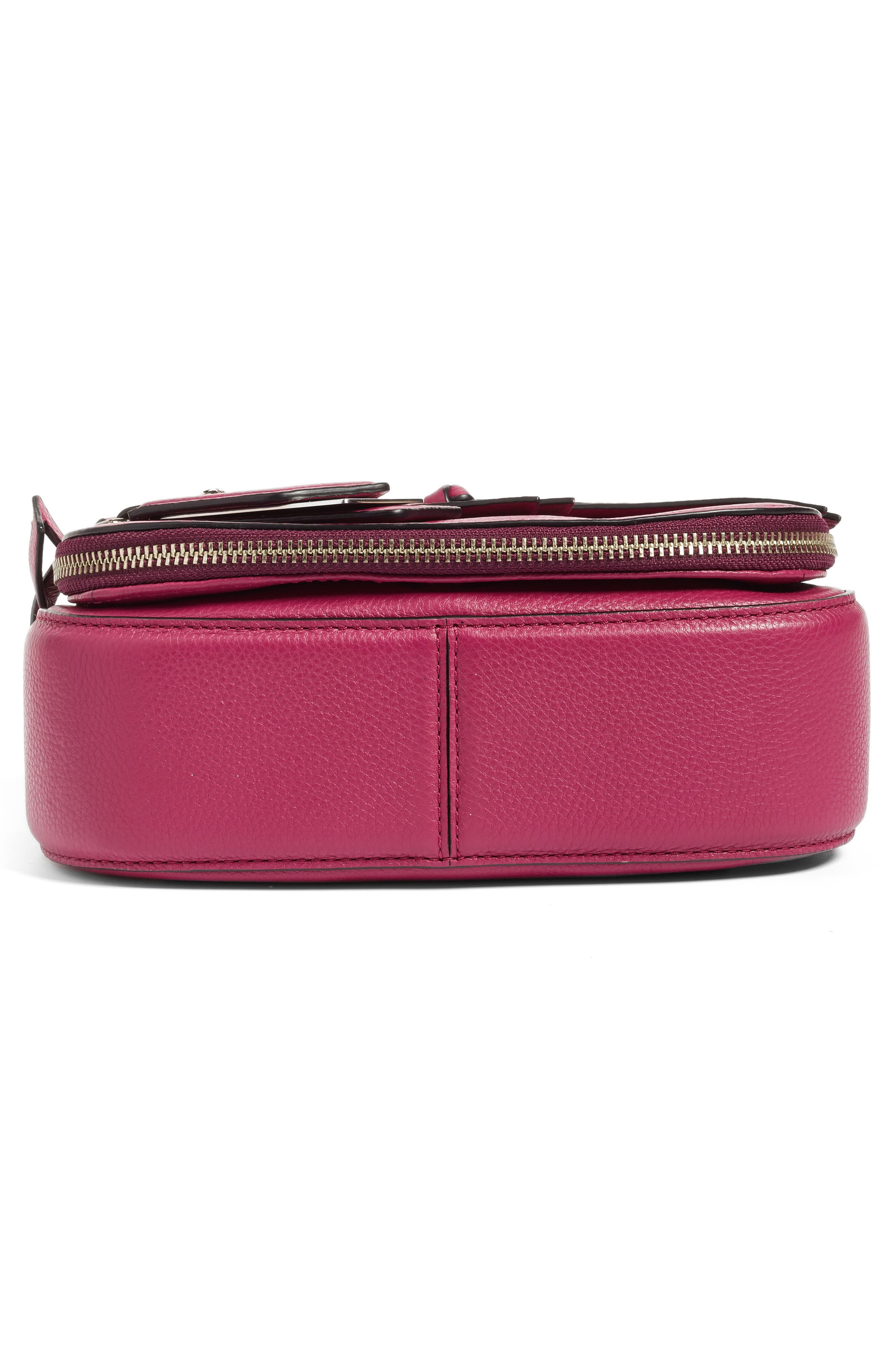 Small Recruit Nomad Pebbled Leather Crossbody Bag,                             Alternate thumbnail 85, color,