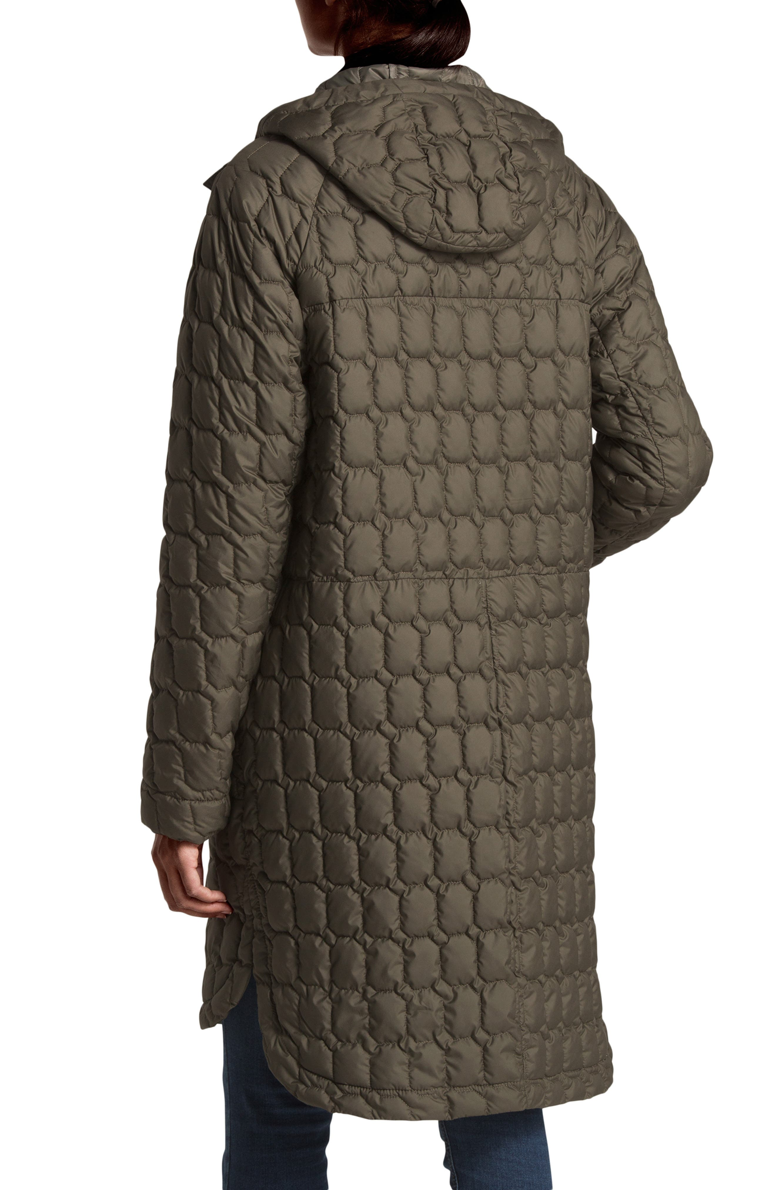Thermoball<sup>™</sup> Water Resistant Duster Jacket,                             Alternate thumbnail 2, color,                             NEW TAUPE GREEN