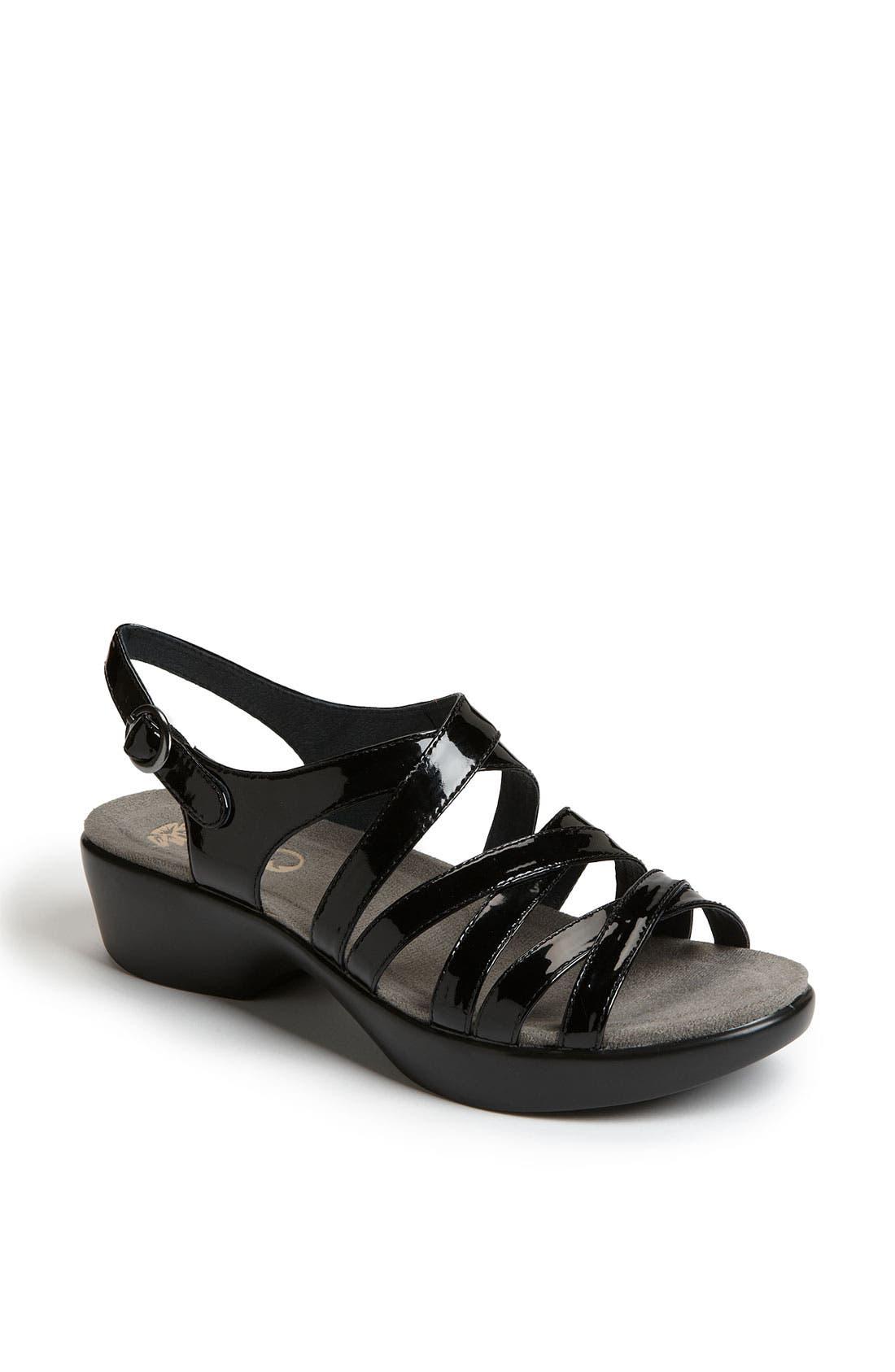 'Dani' Sandal, Main, color, 001