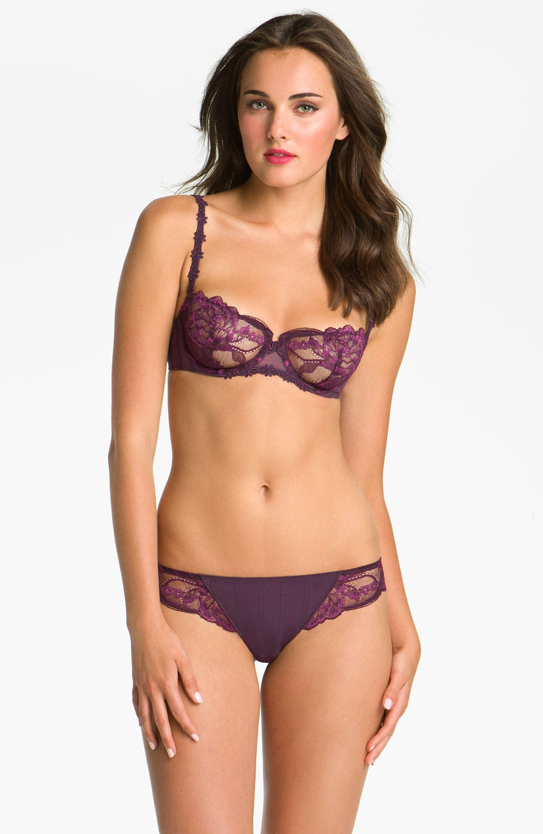 'Amour' Underwire Demi Bra,                             Alternate thumbnail 51, color,