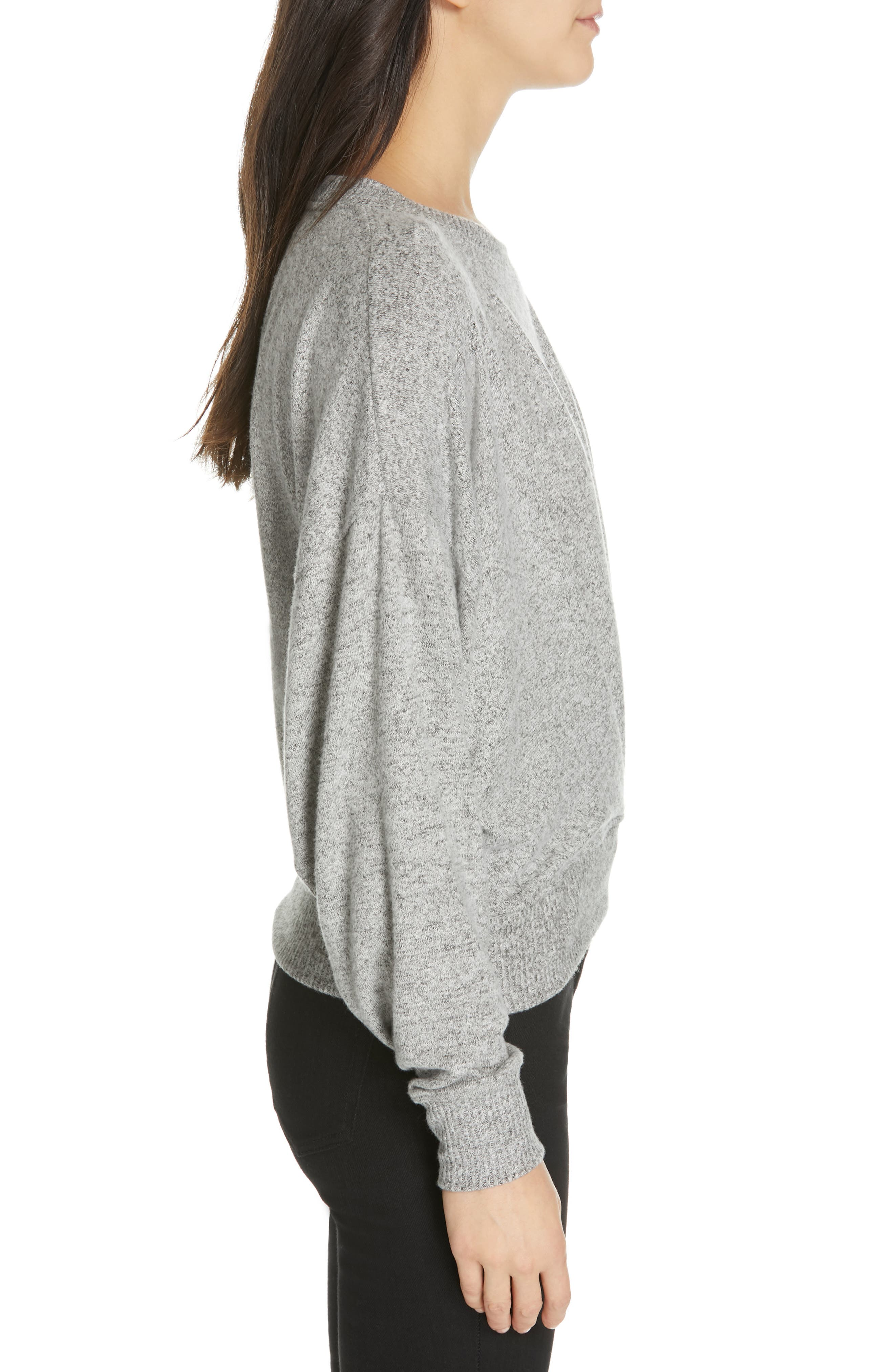 Yerrick Sweater,                             Alternate thumbnail 3, color,                             HEATHER GREY