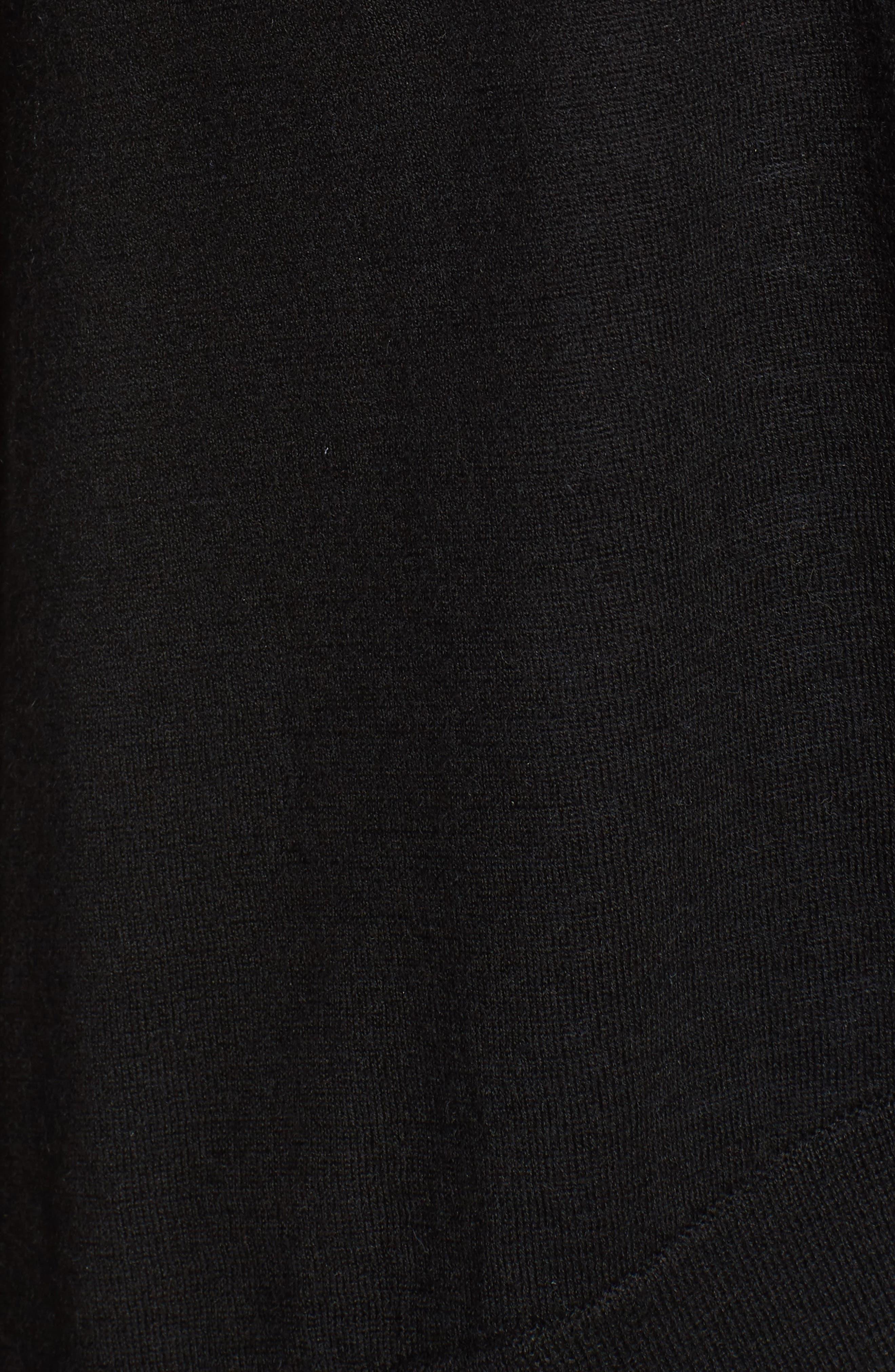 Cashmere & Linen Cardigan,                             Alternate thumbnail 5, color,                             001