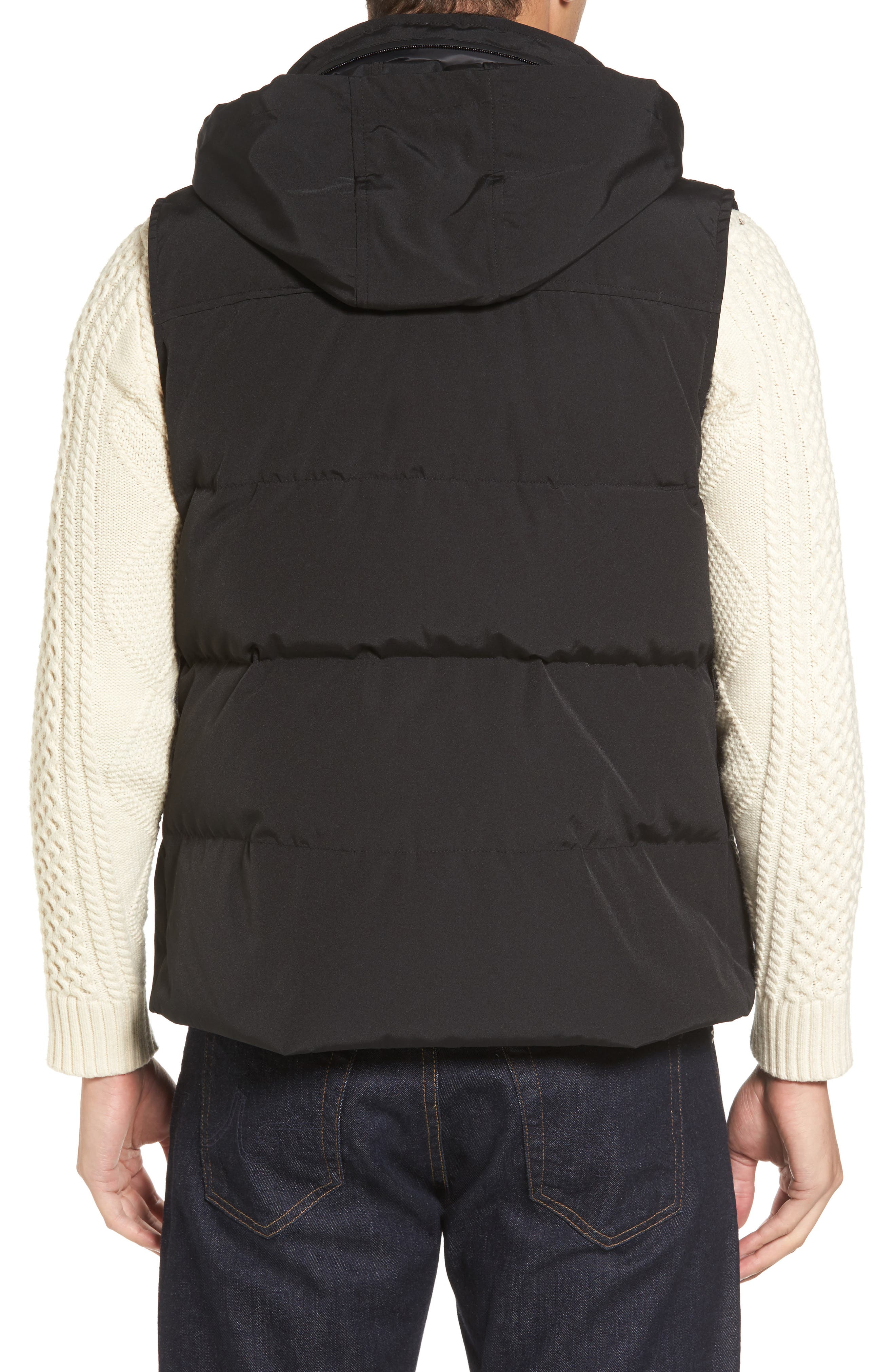 Water-Resistant Down Vest,                             Alternate thumbnail 2, color,                             001