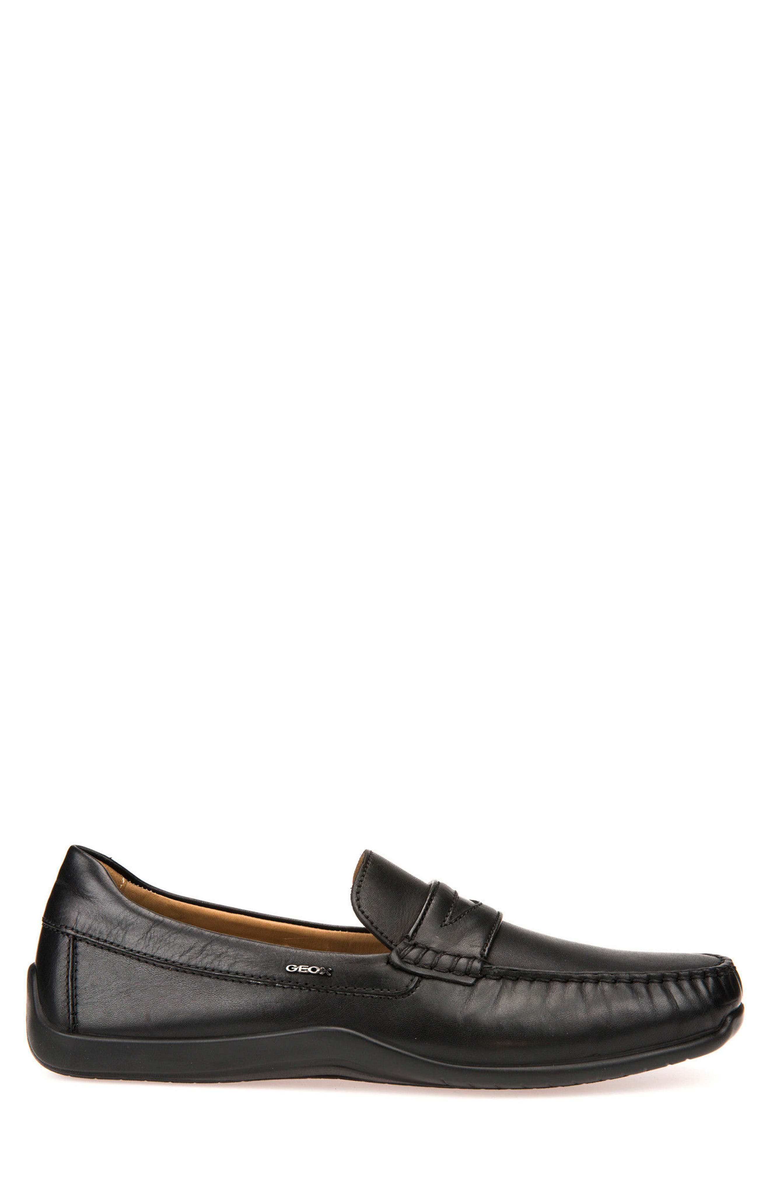 Xense Penny Loafer,                             Alternate thumbnail 3, color,                             001