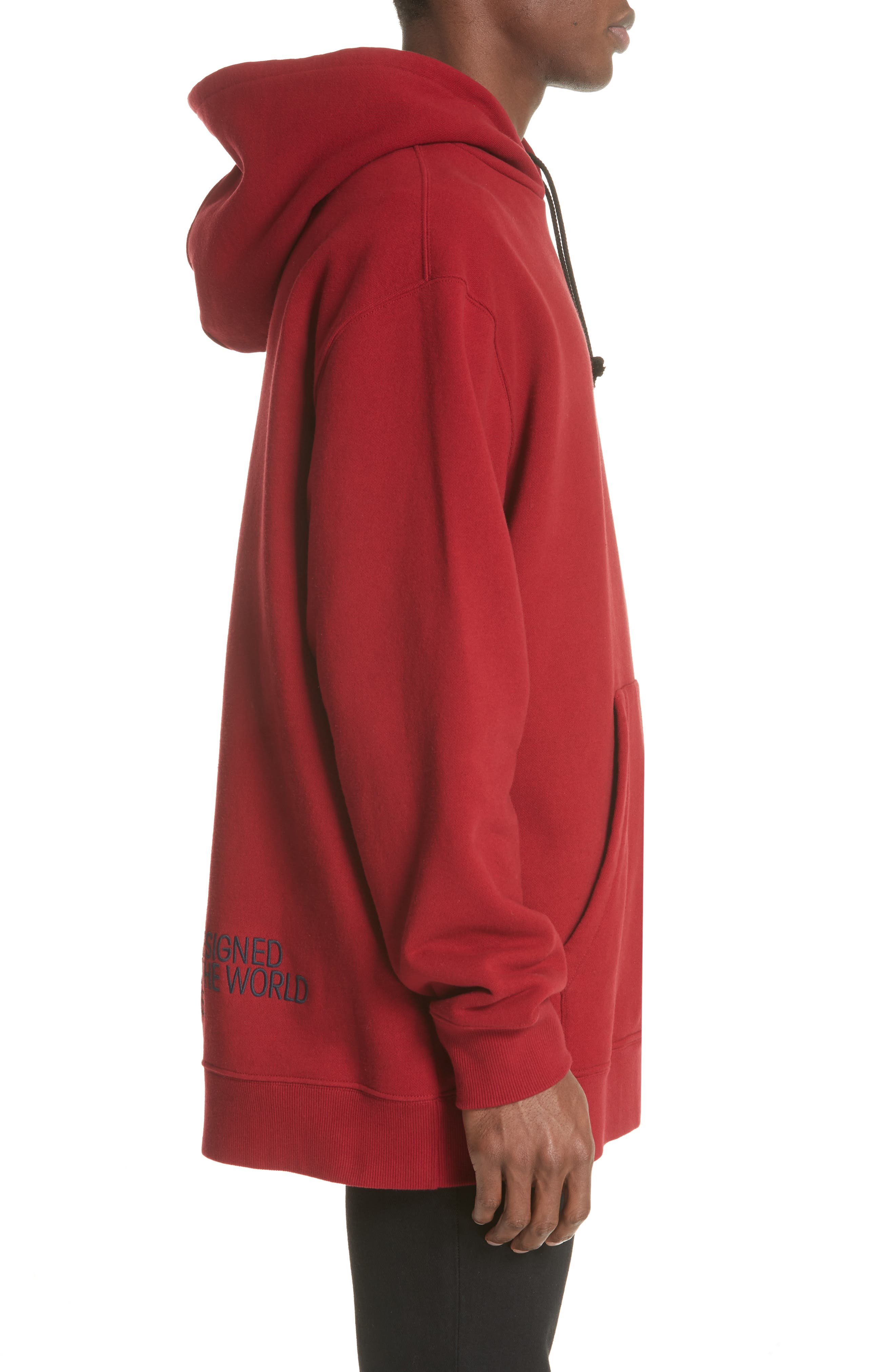 CALVIN KLEIN 205W39NYC,                             Oversize Hoodie,                             Alternate thumbnail 3, color,                             602