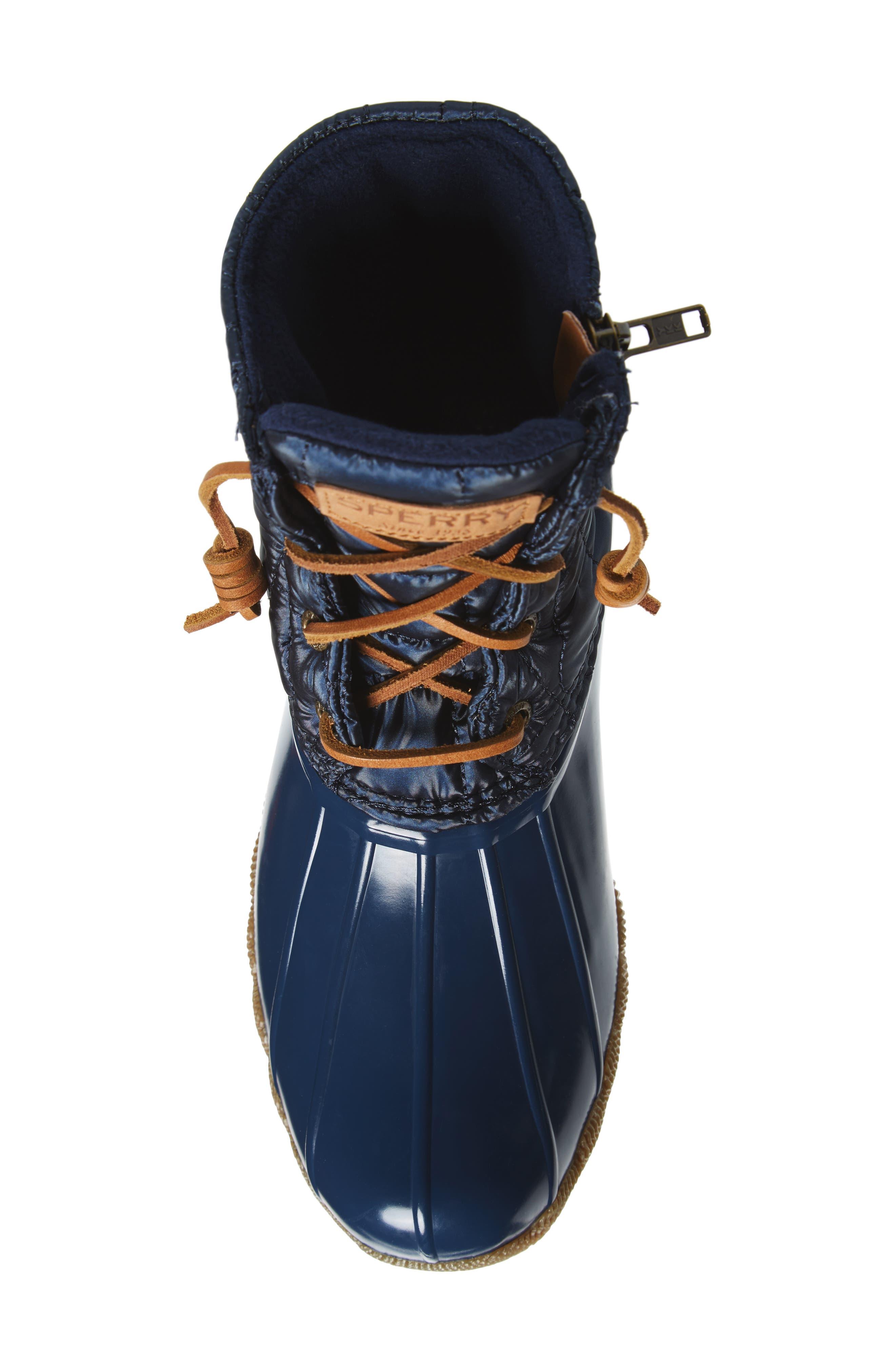 'Saltwater' Waterproof Rain Boot,                             Alternate thumbnail 122, color,