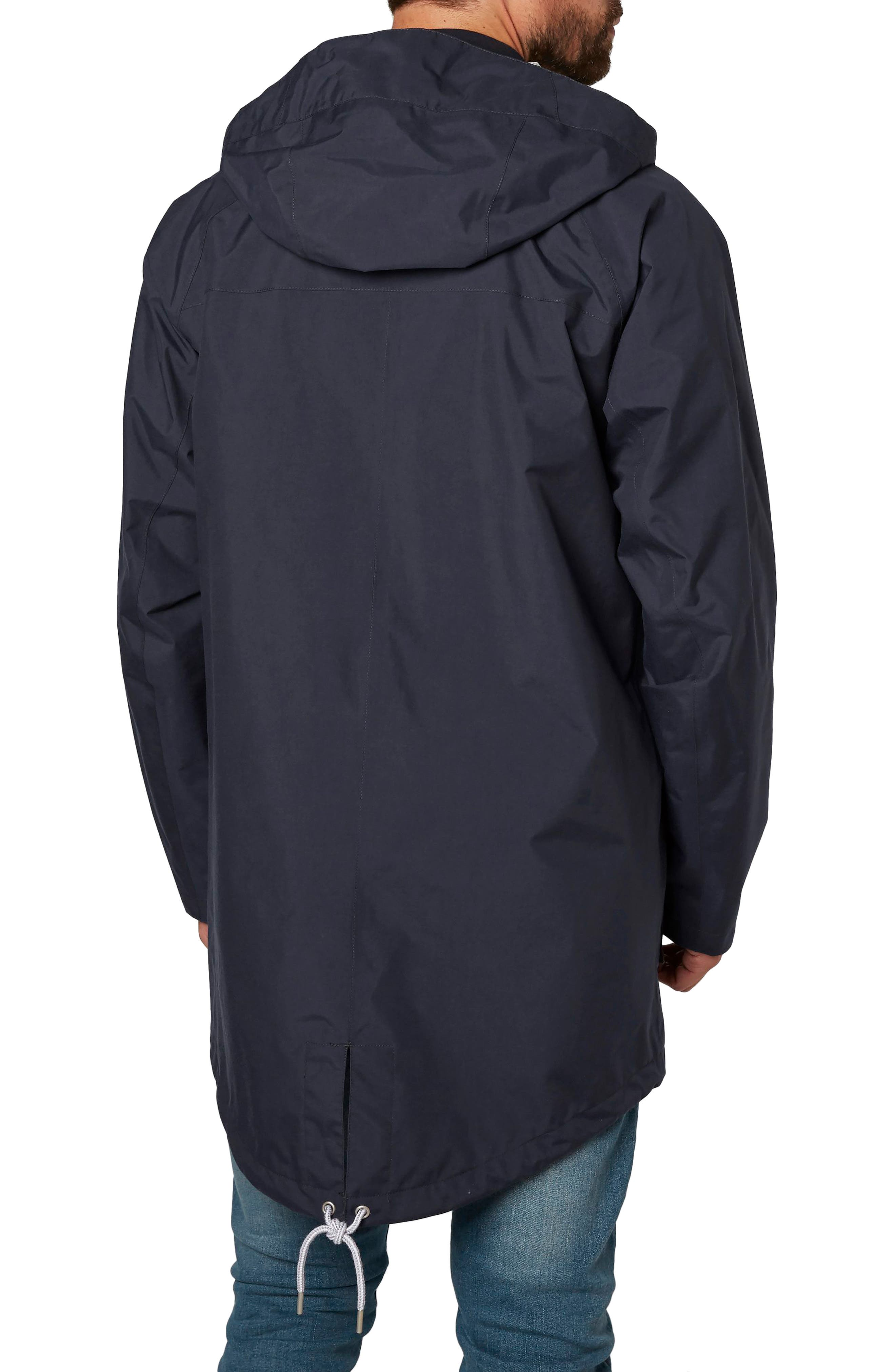 Elements Hooded Rain Jacket,                             Alternate thumbnail 2, color,