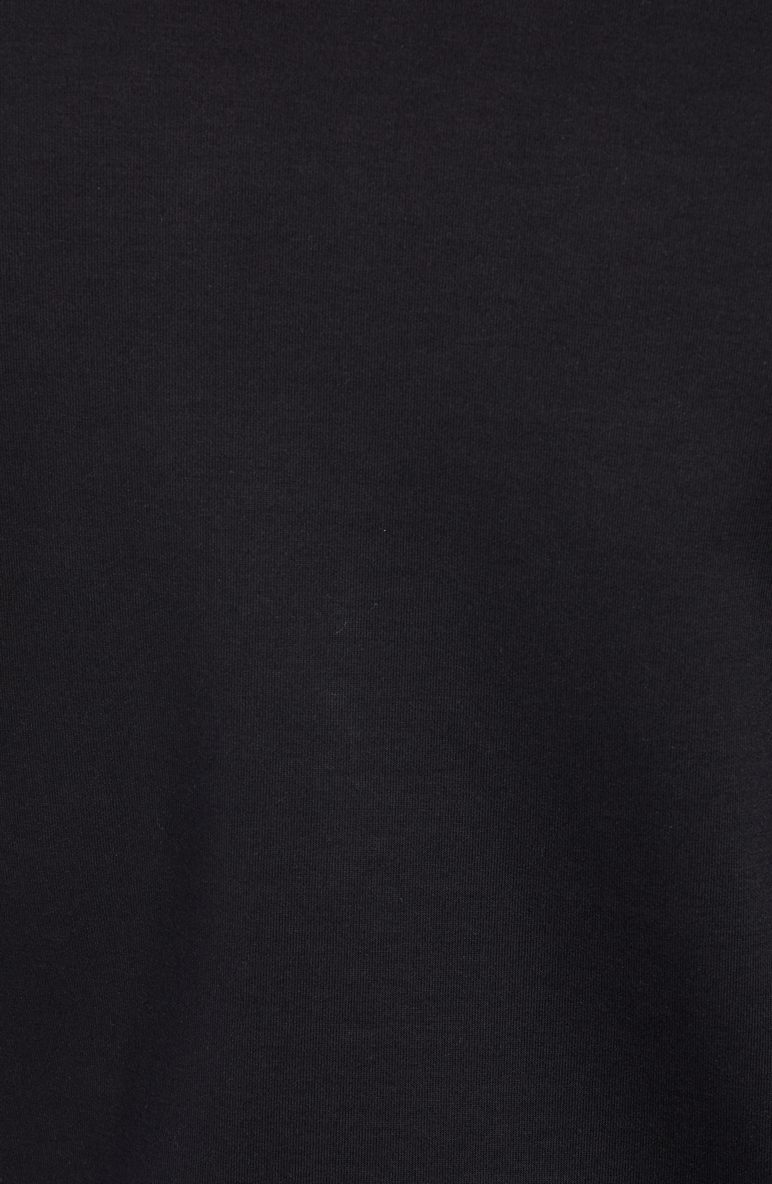 x Jeremyville Stadler JV Crewneck Sweatshirt,                             Alternate thumbnail 5, color,                             BLACK