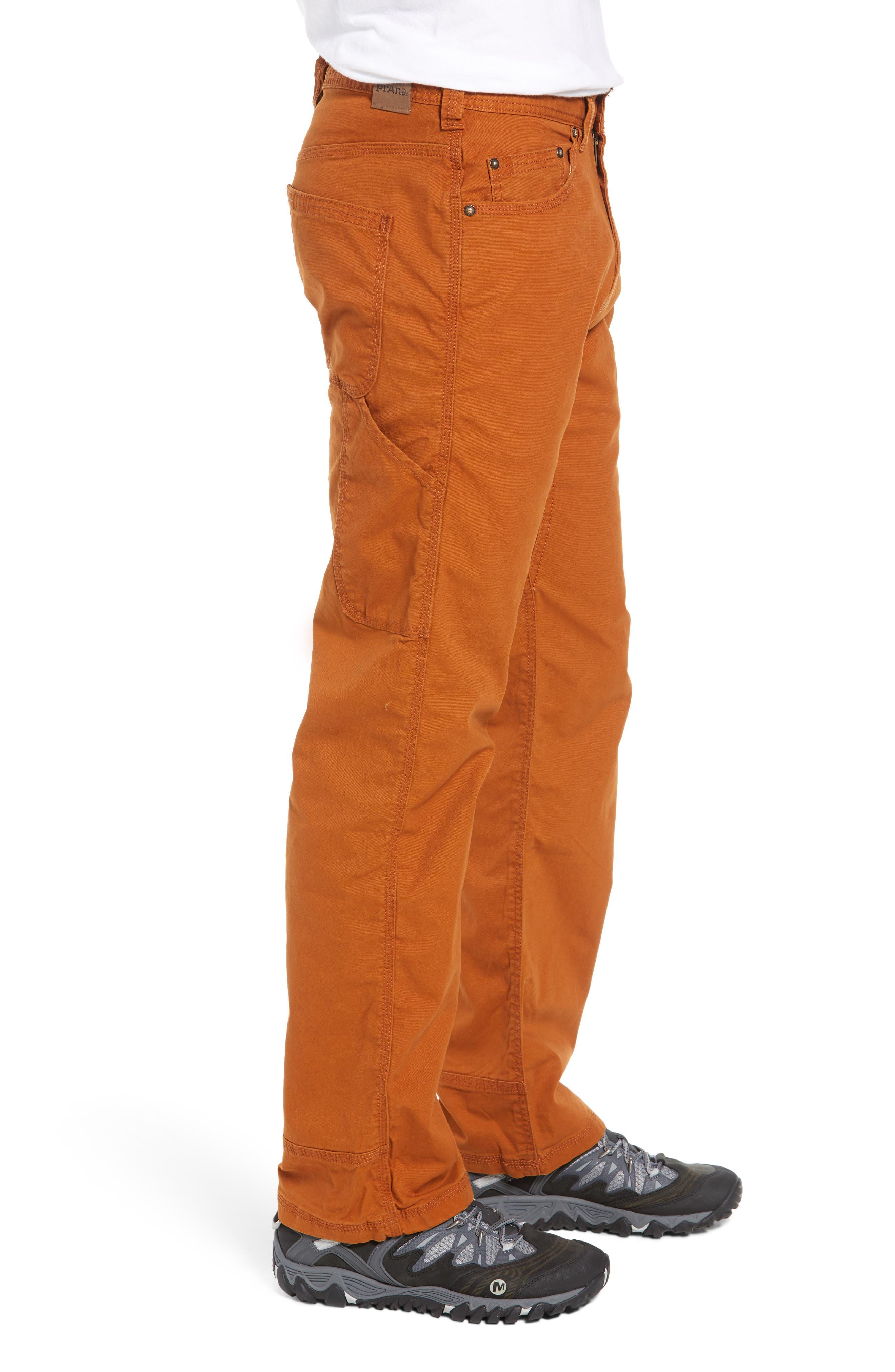 Bronson Pants,                             Alternate thumbnail 3, color,                             BURNT CARAMEL