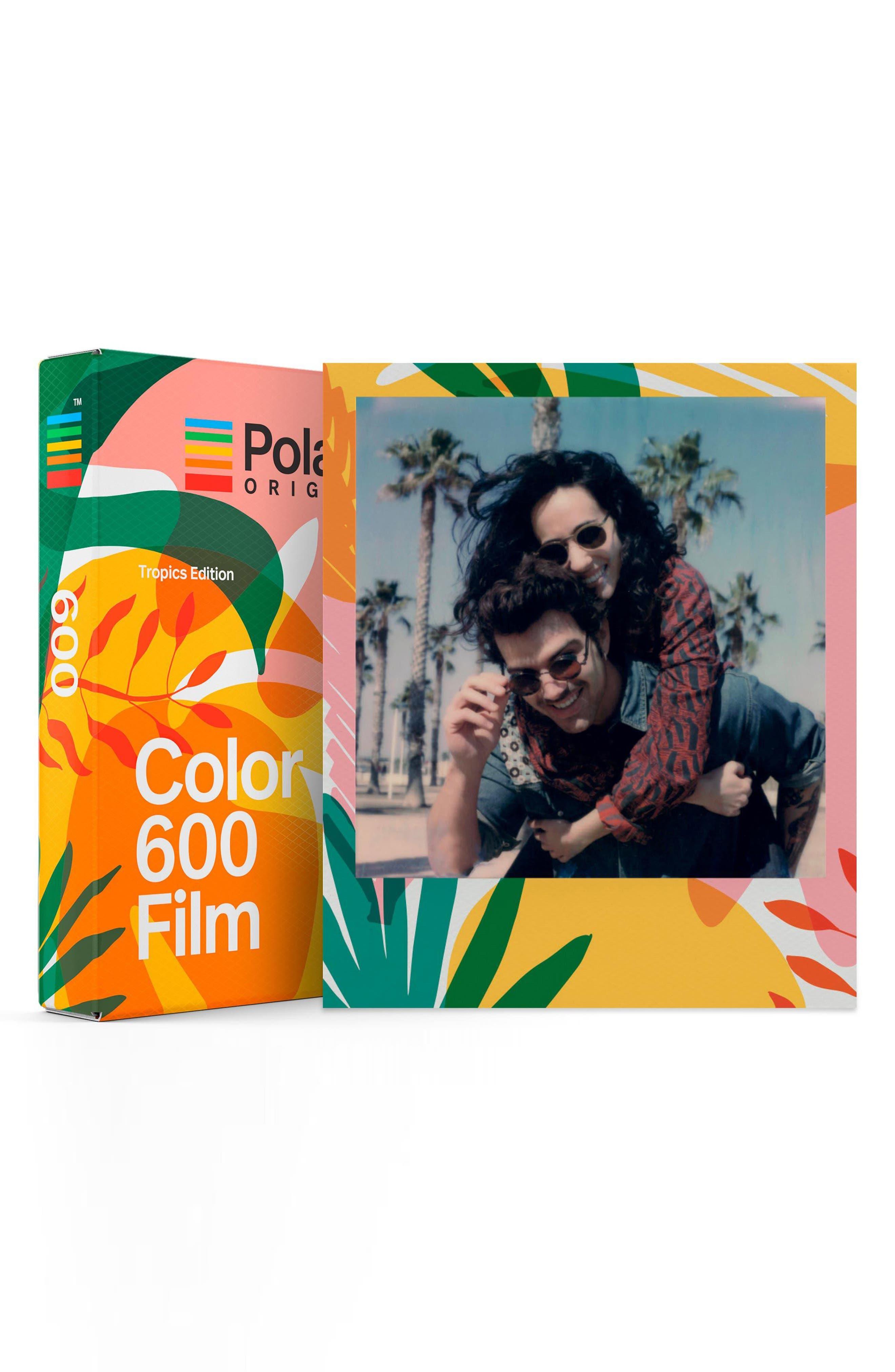 Tropics Edition 600 Color Instant Film,                             Main thumbnail 1, color,                             MULTI